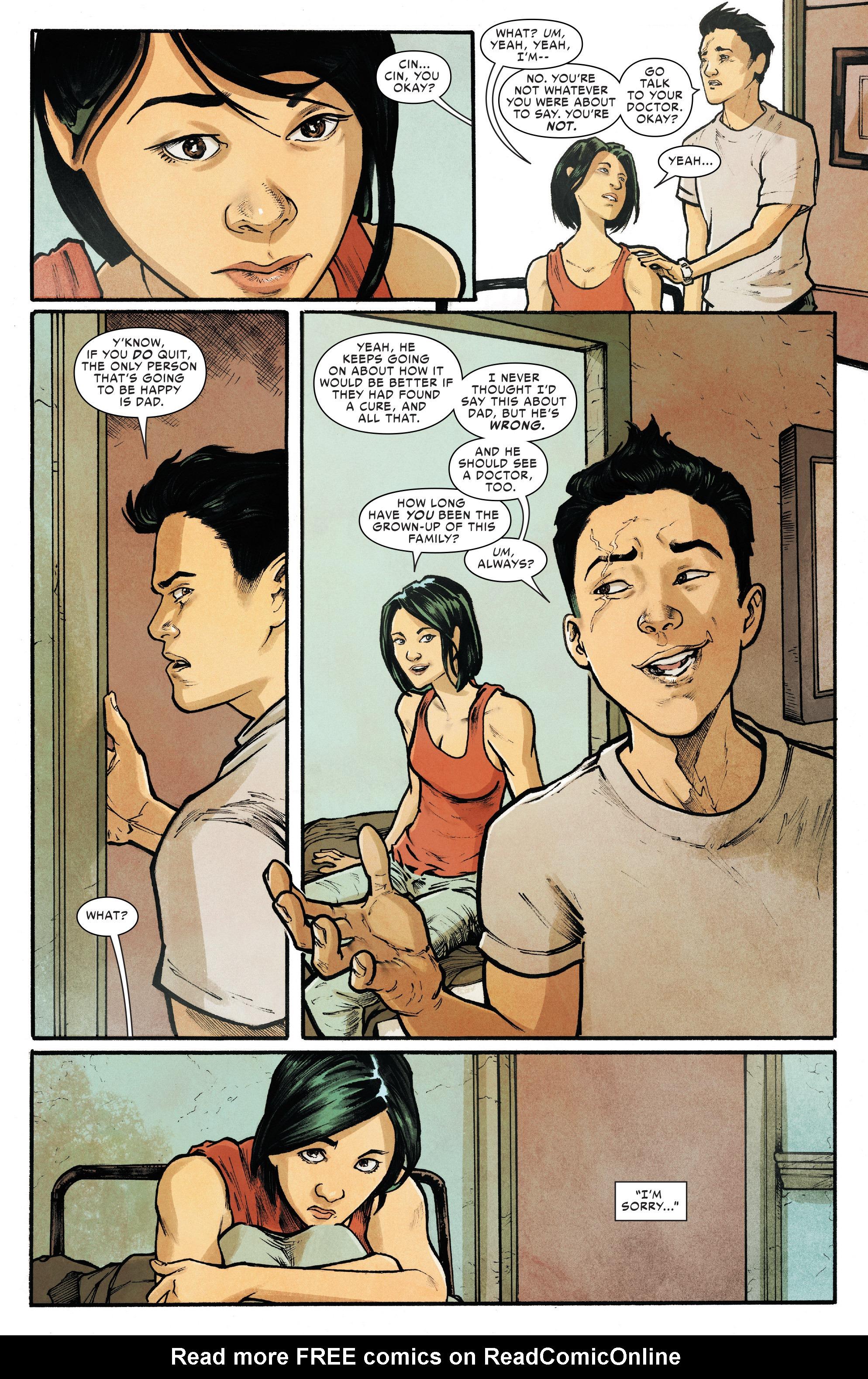 Read online Silk (2016) comic -  Issue #18 - 15