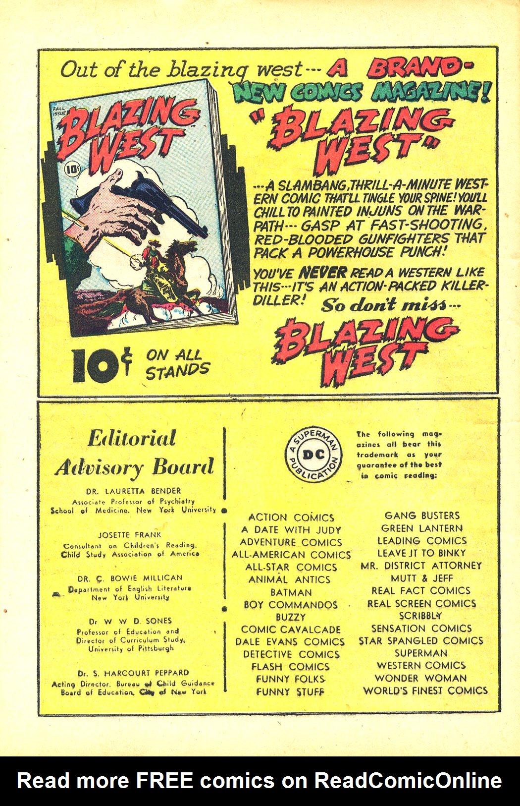 Read online Sensation (Mystery) Comics comic -  Issue #81 - 40