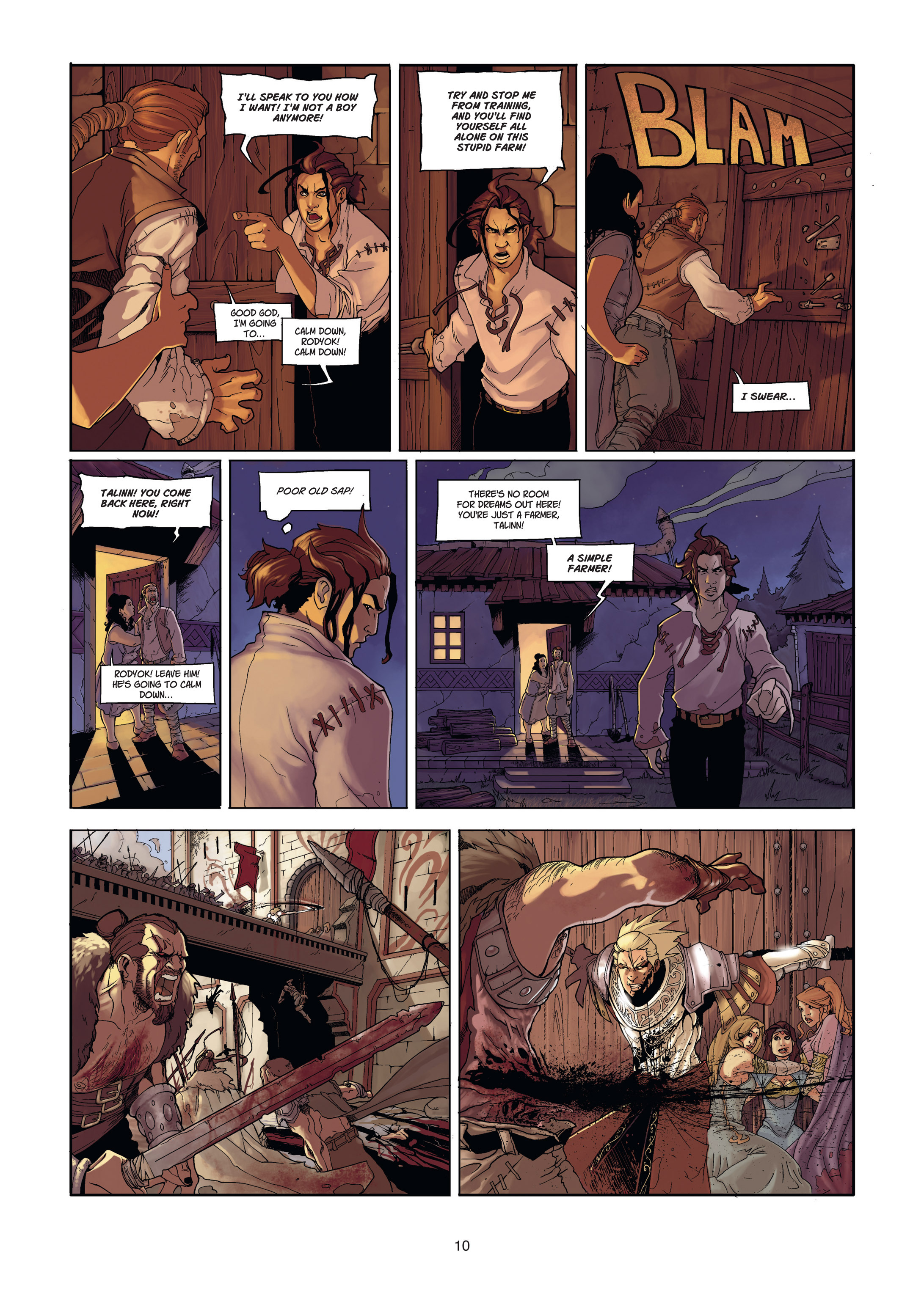 Read online Angor comic -  Issue #1 - 10