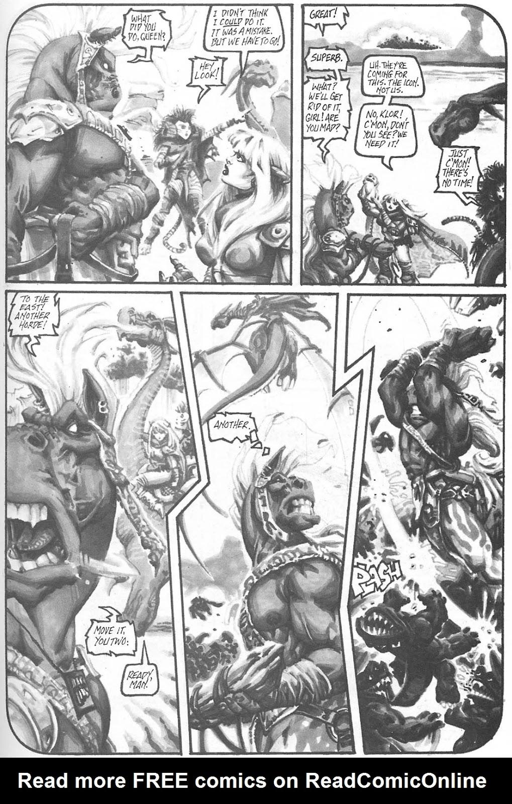 Read online Animal Mystic comic -  Issue #4 - 43