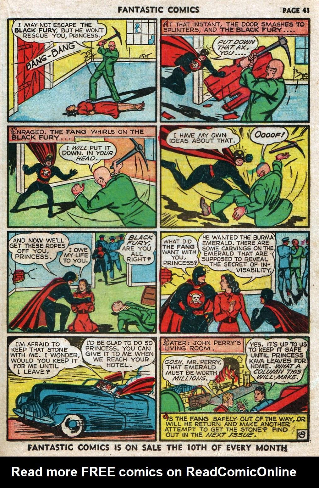 Read online Fantastic Comics comic -  Issue #17 - 42