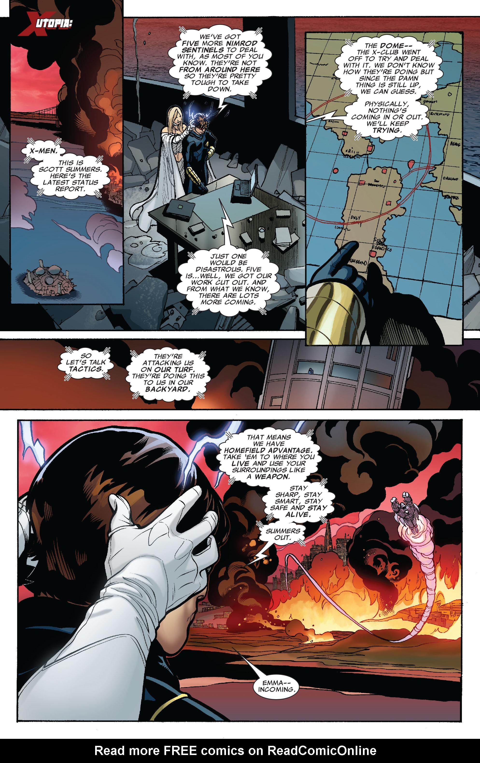 Read online Uncanny X-Men (1963) comic -  Issue #525 - 9