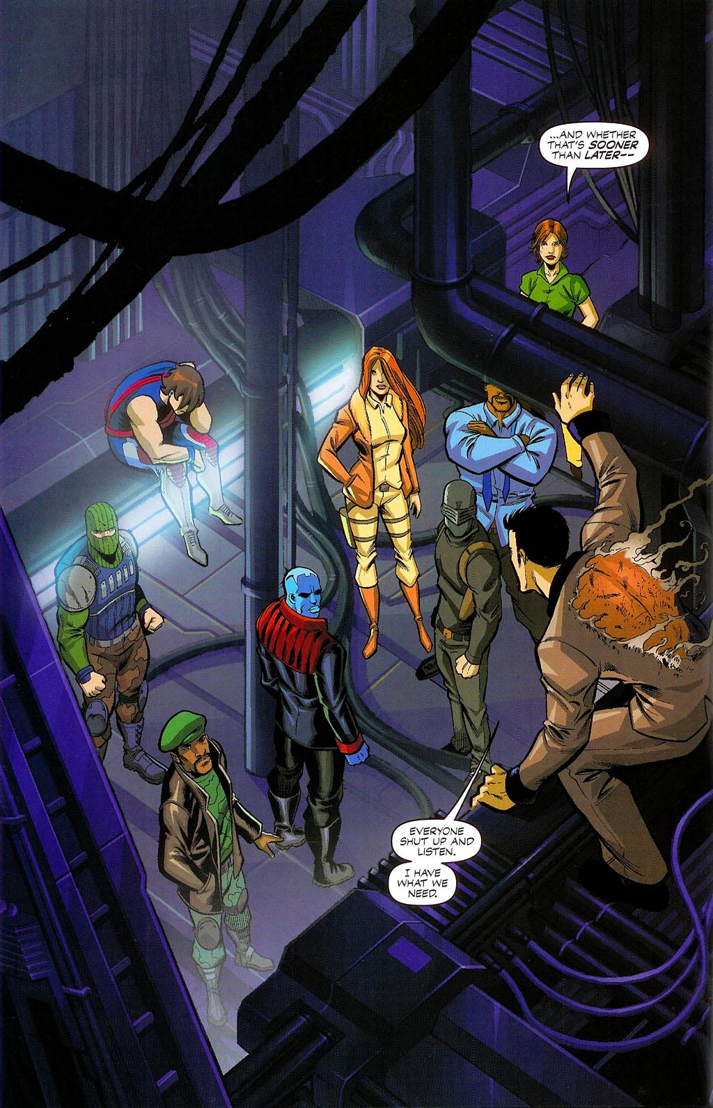 G.I. Joe vs. The Transformers II Issue #4 #5 - English 4