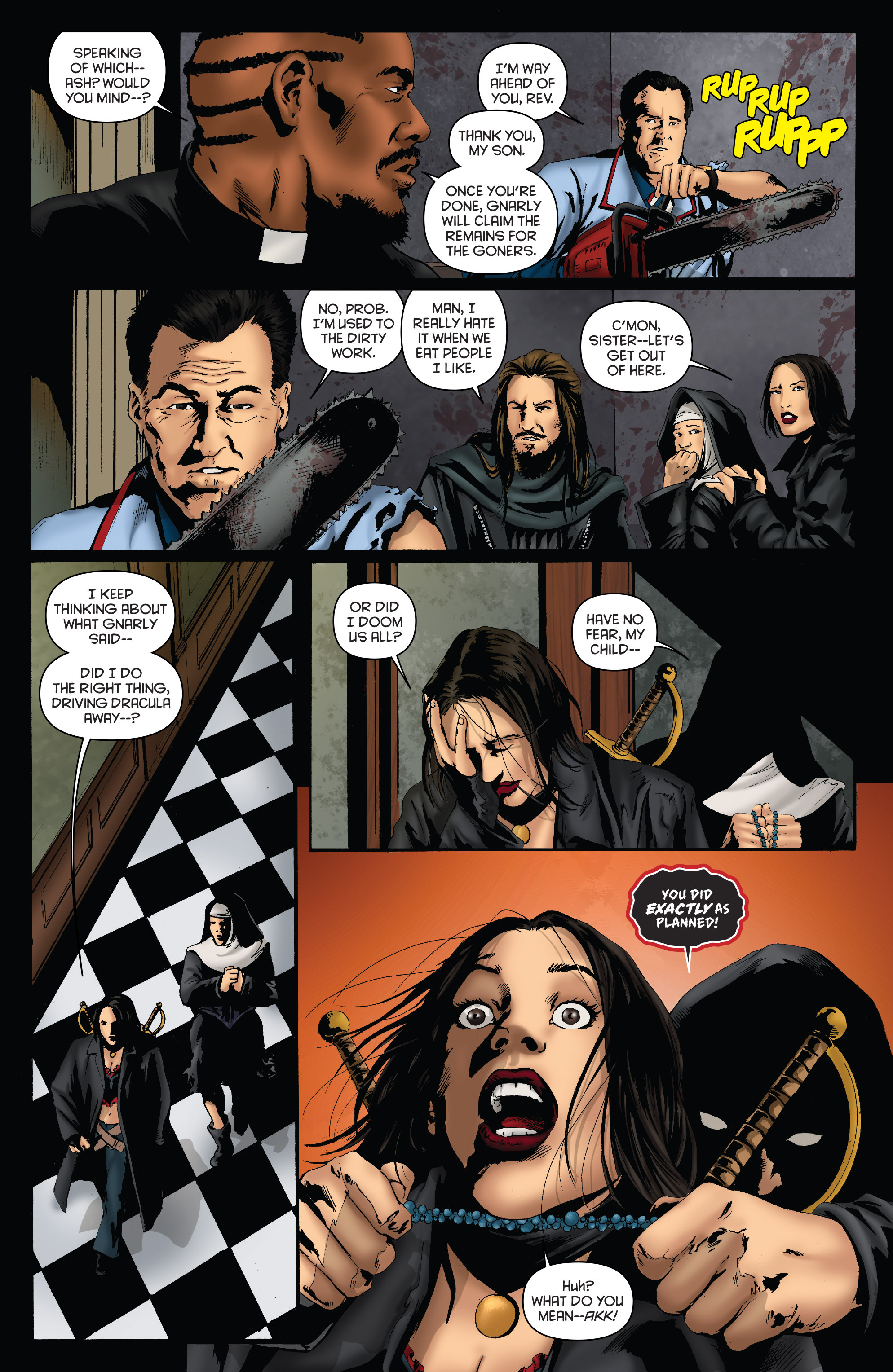 Read online Army of Darkness: Furious Road comic -  Issue #3 - 12