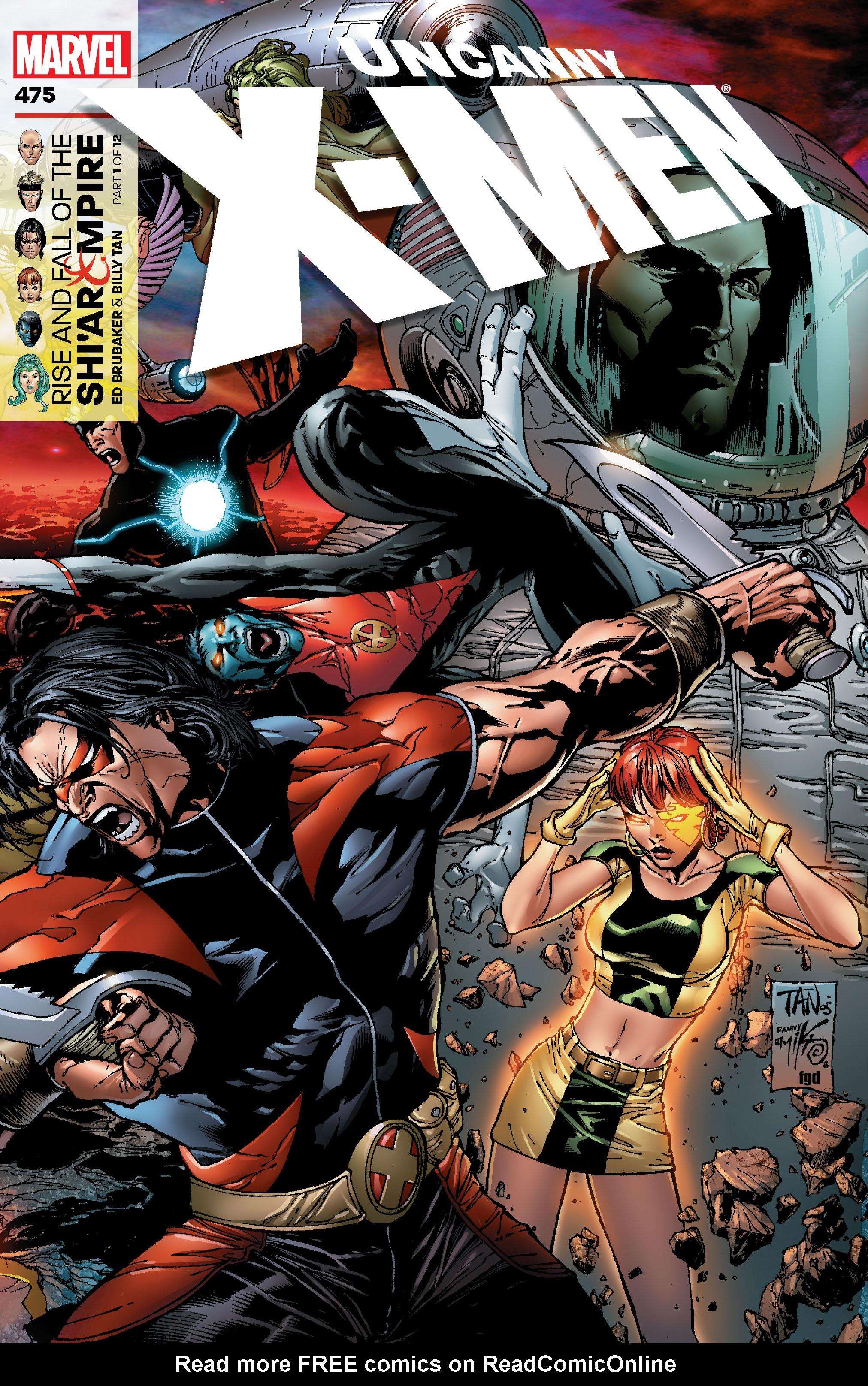 Uncanny X-Men (1963) 475 Page 1