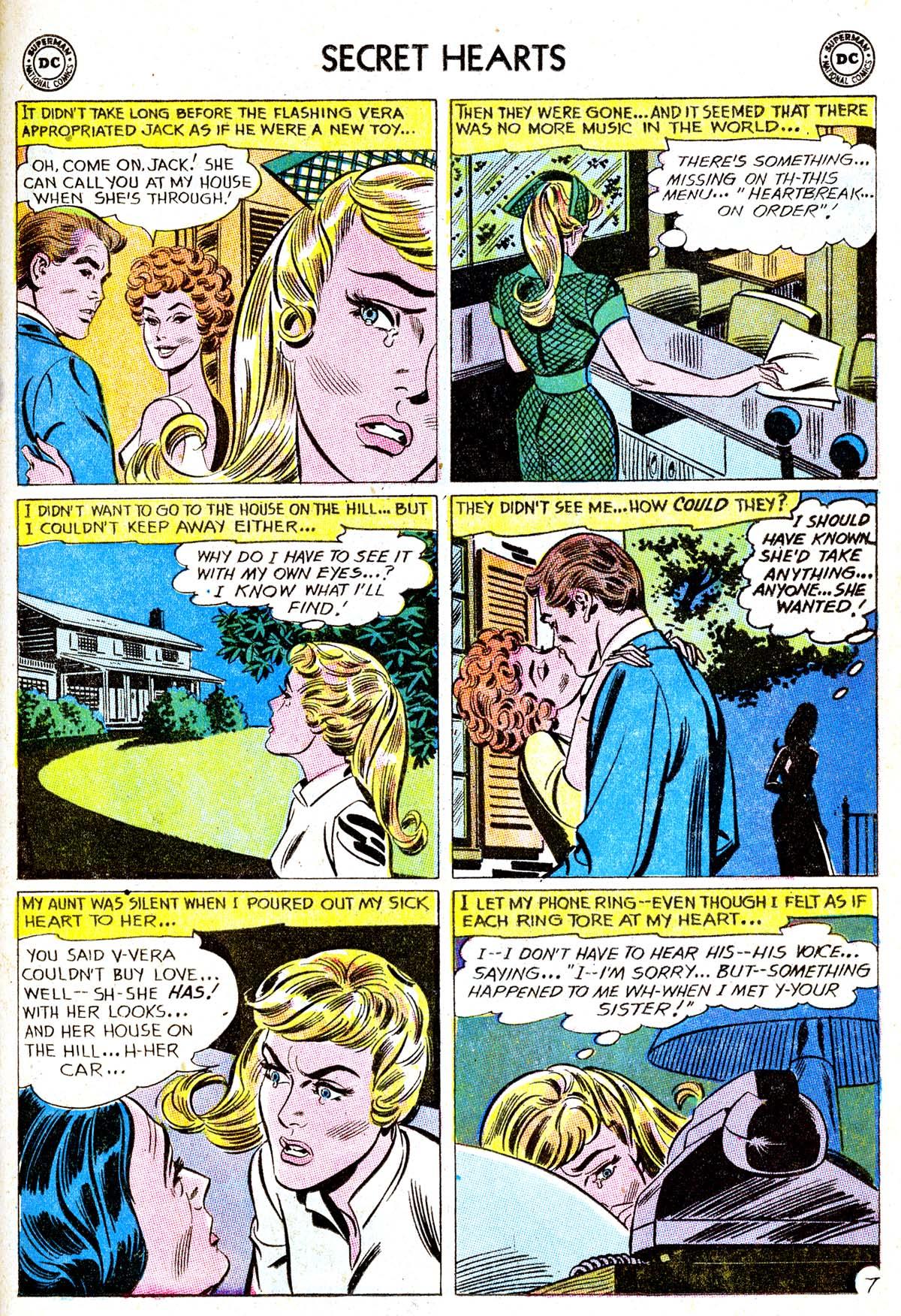 Read online Secret Hearts comic -  Issue #85 - 33