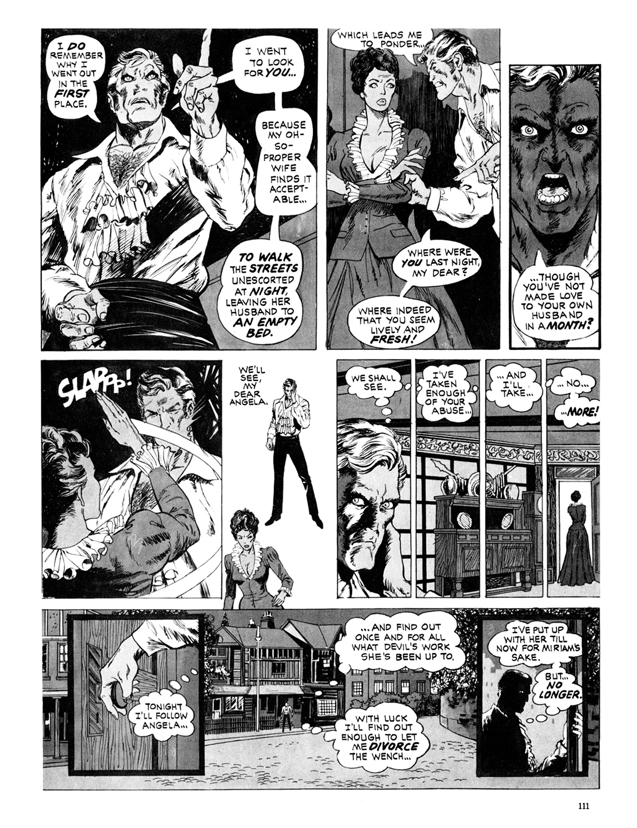 Read online Eerie Archives comic -  Issue # TPB 10 - 112