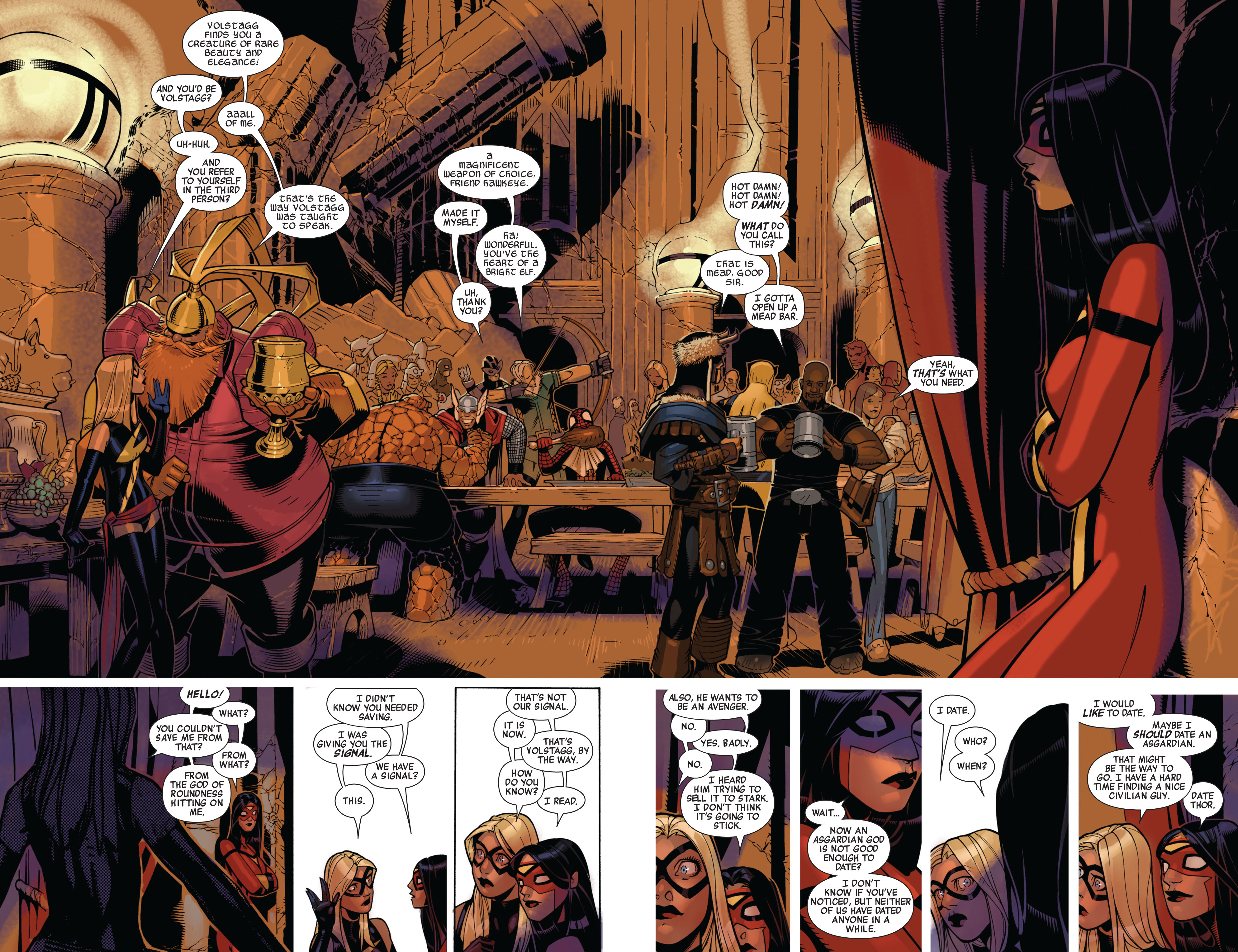 Read online Avengers (2010) comic -  Issue #13 - 13