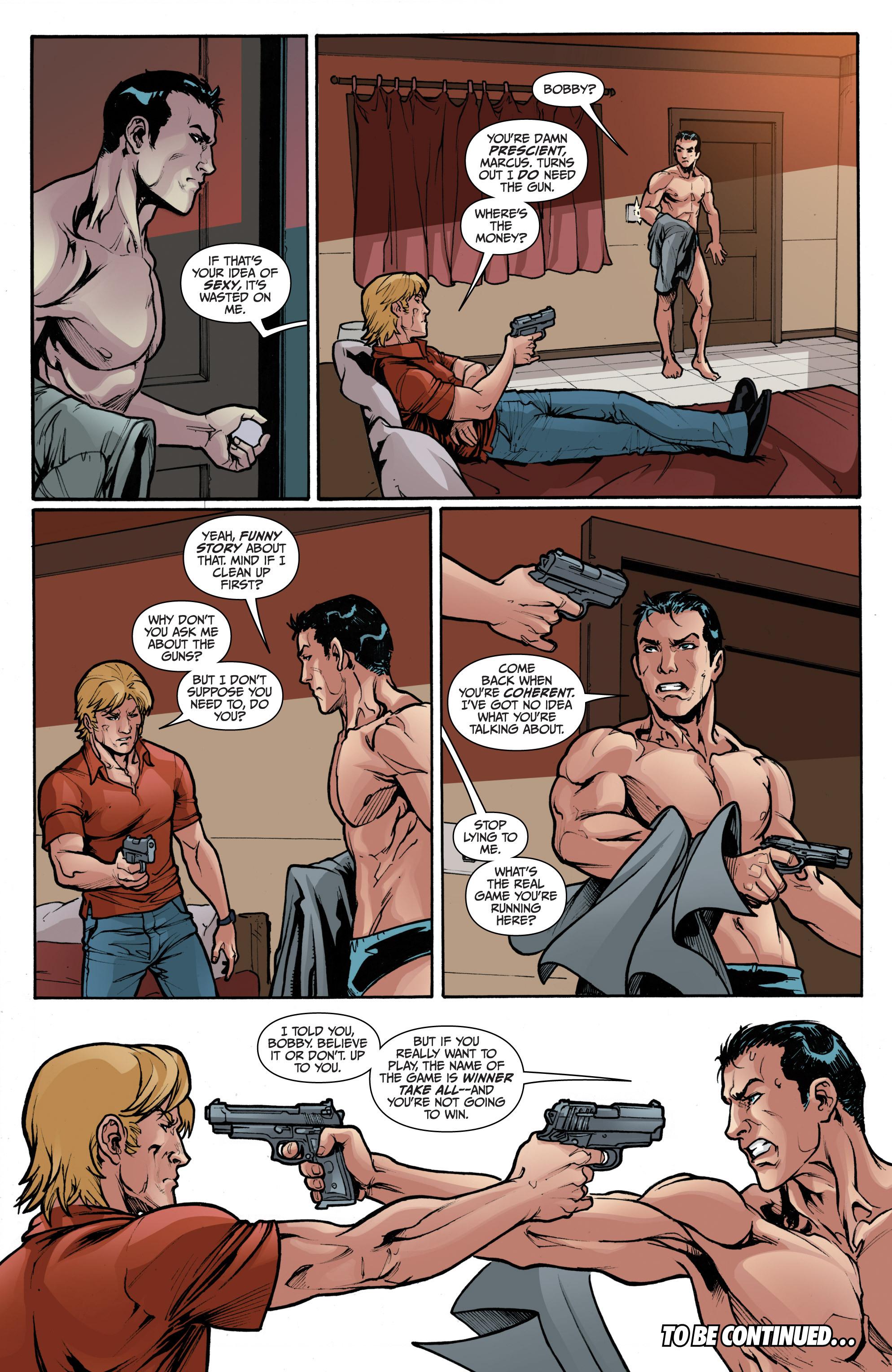 Read online 3 Guns comic -  Issue #2 - 24