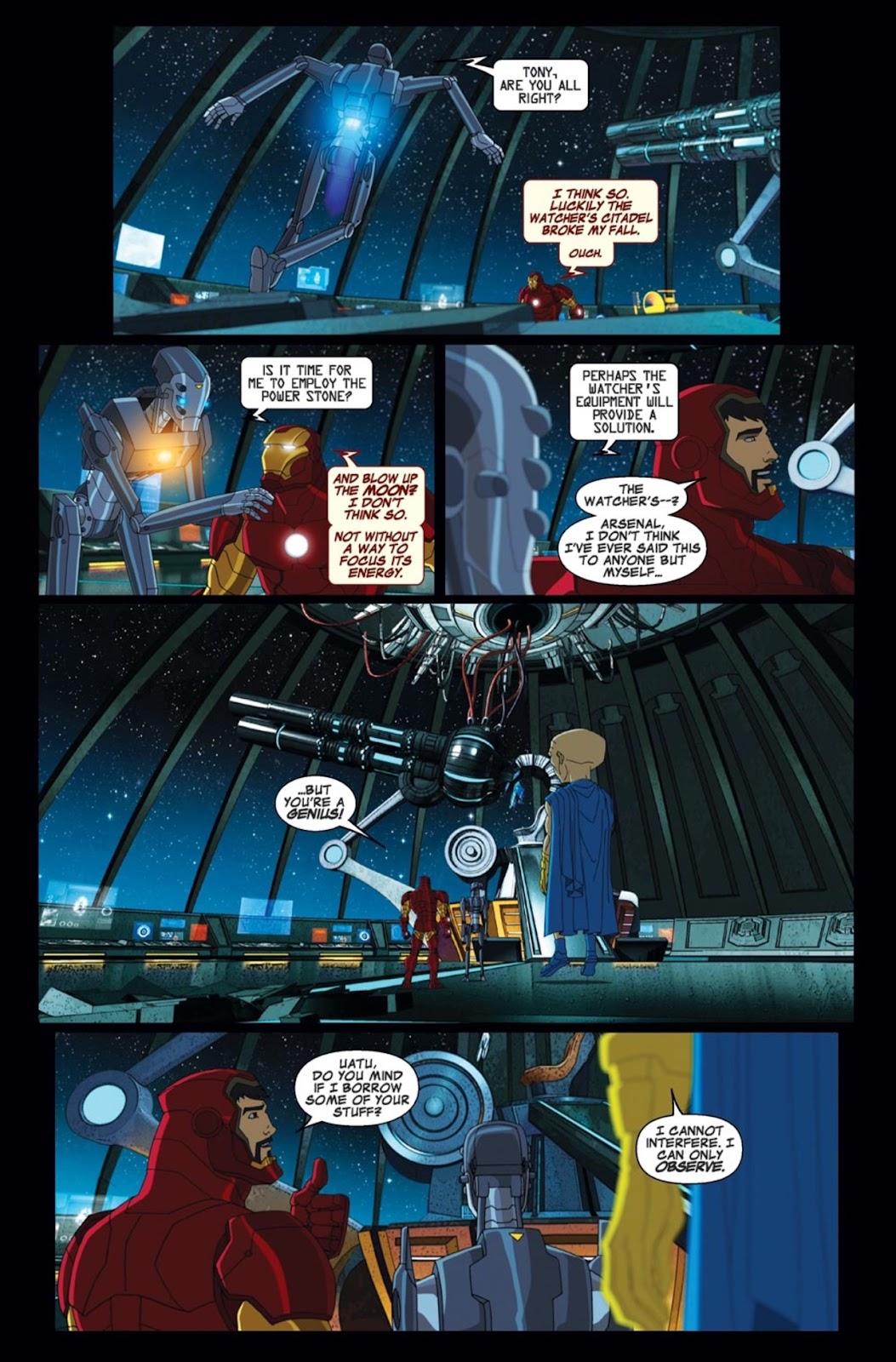 Read online Marvel Universe Avengers Assemble Season 2 comic -  Issue #2 - 12