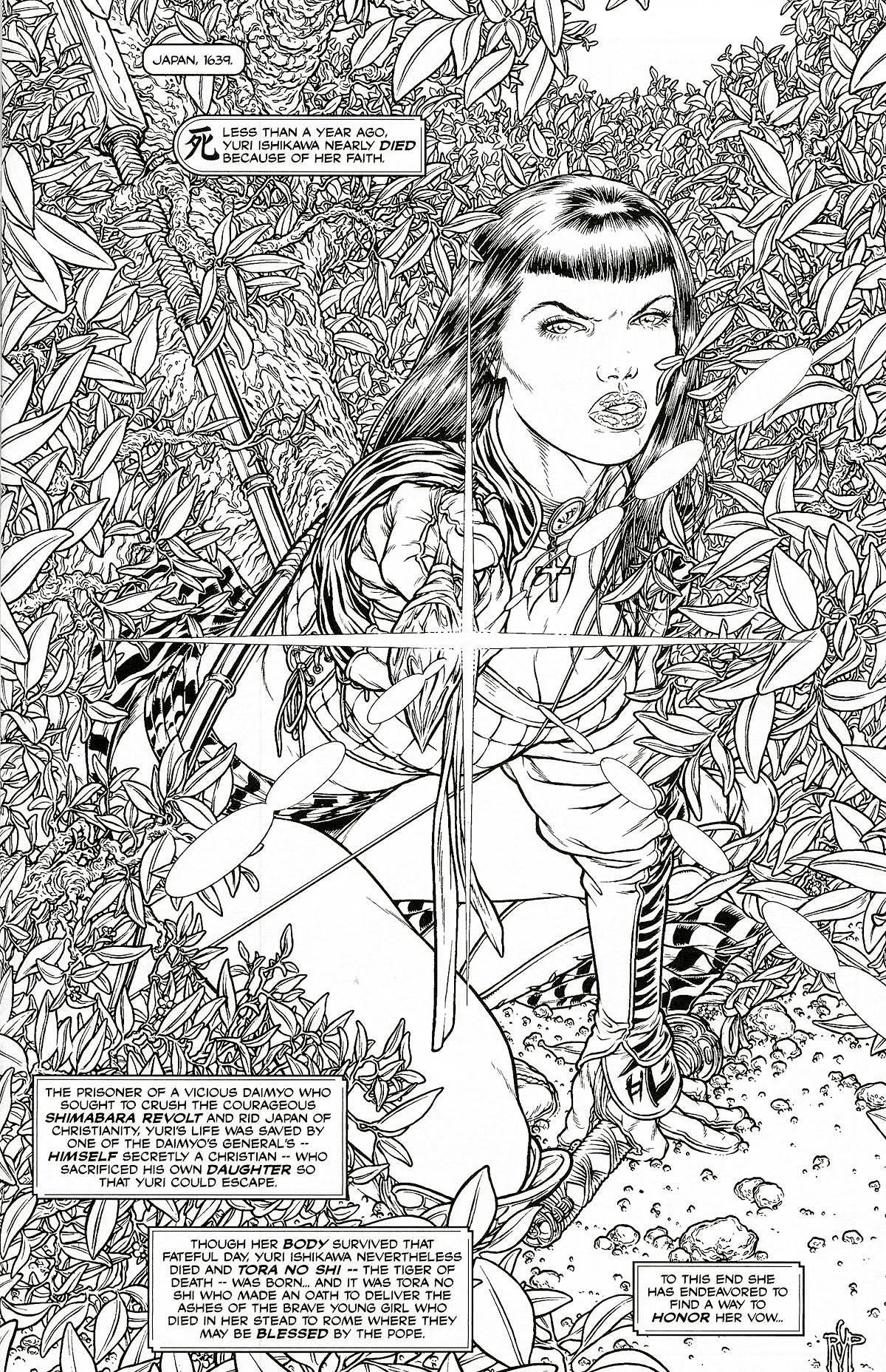Read online Shi: Pandora's Box comic -  Issue #1 - 3