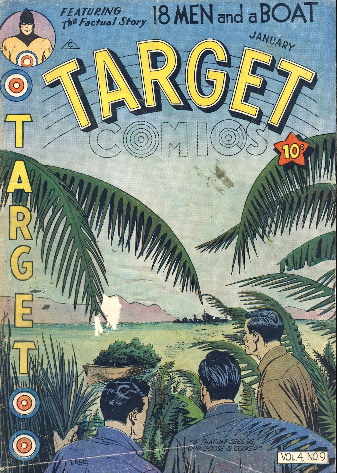 Target Comics issue 45 - Page 1
