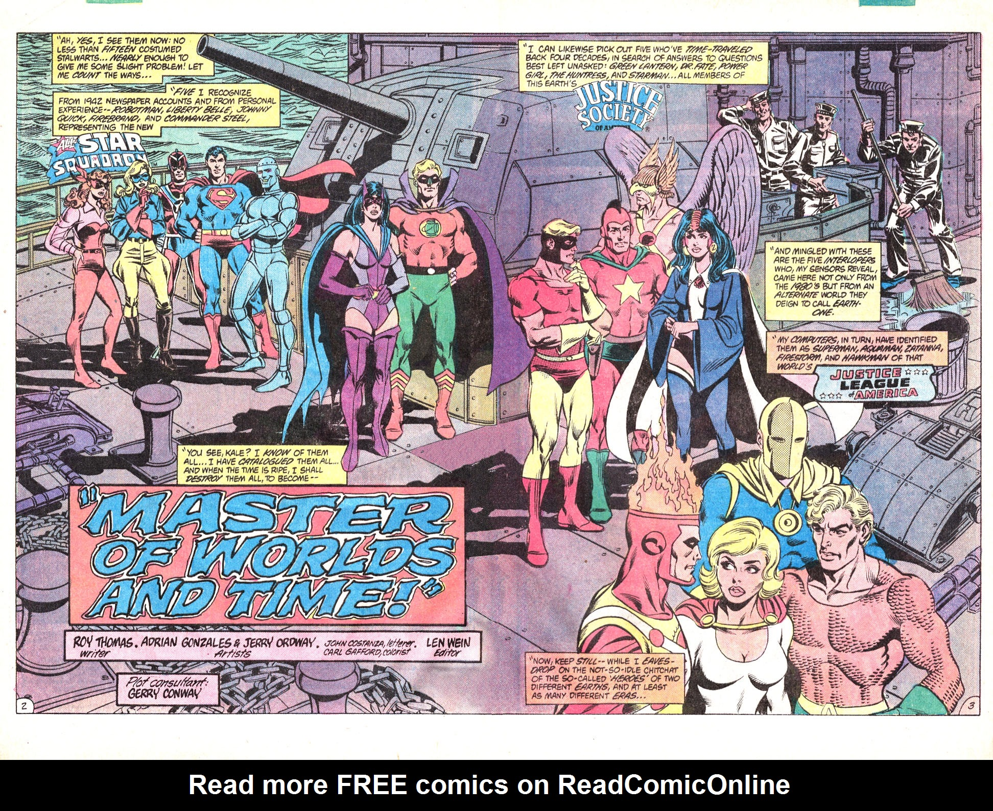 Read online All-Star Squadron comic -  Issue #15 - 4