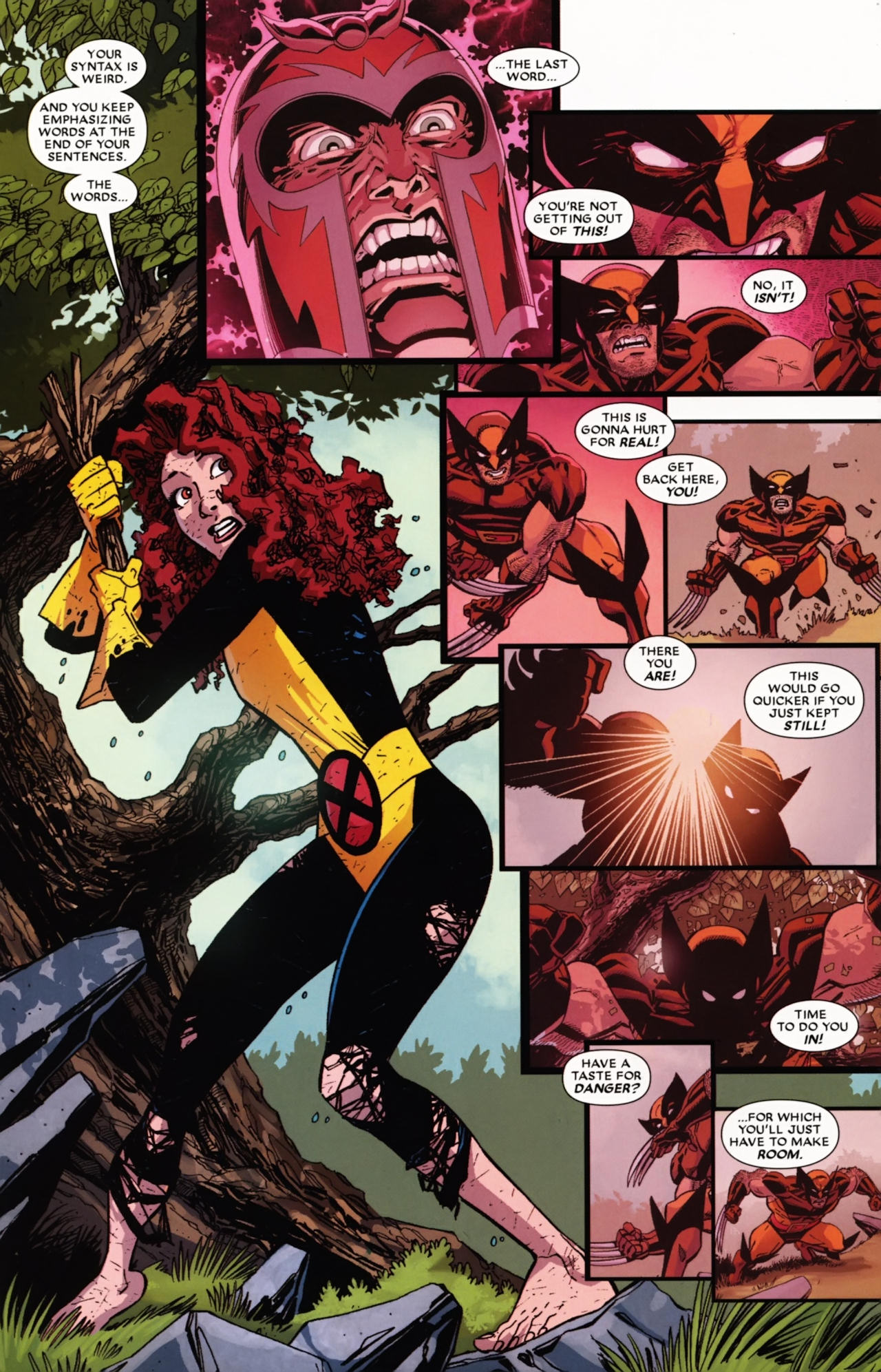 Read online Wolverine: First Class comic -  Issue #21 - 21