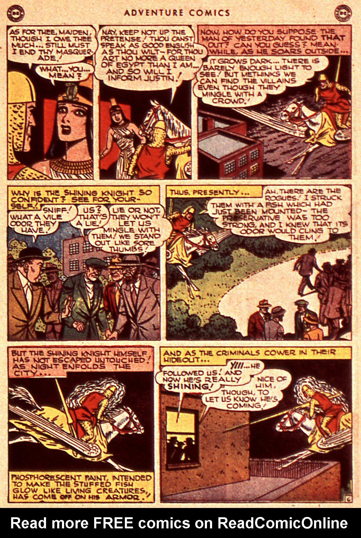Read online Adventure Comics (1938) comic -  Issue #106 - 37