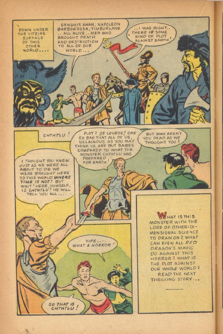 Read online Super-Magician Comics comic -  Issue #47 - 36