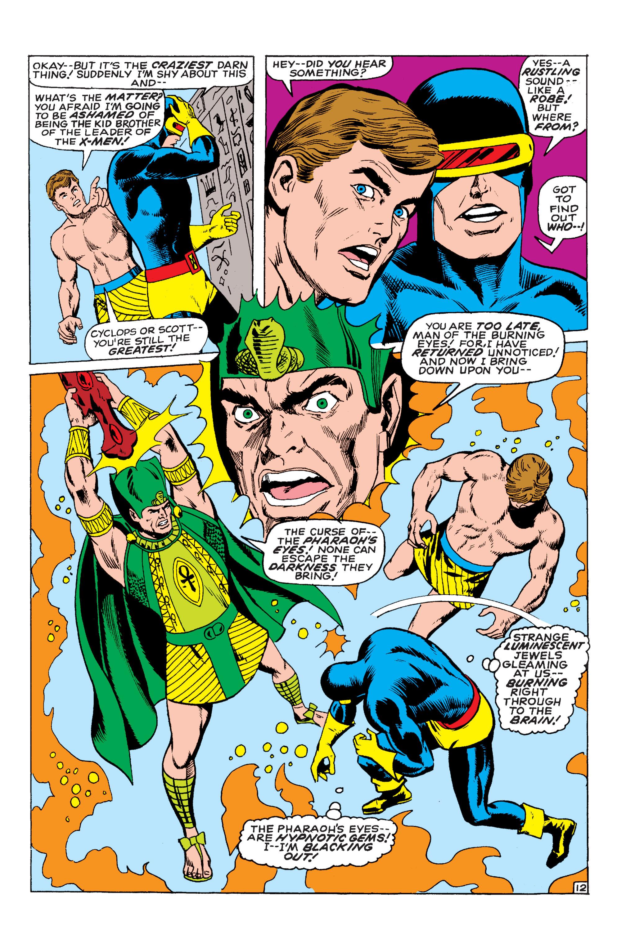 Read online Uncanny X-Men (1963) comic -  Issue #54 - 13