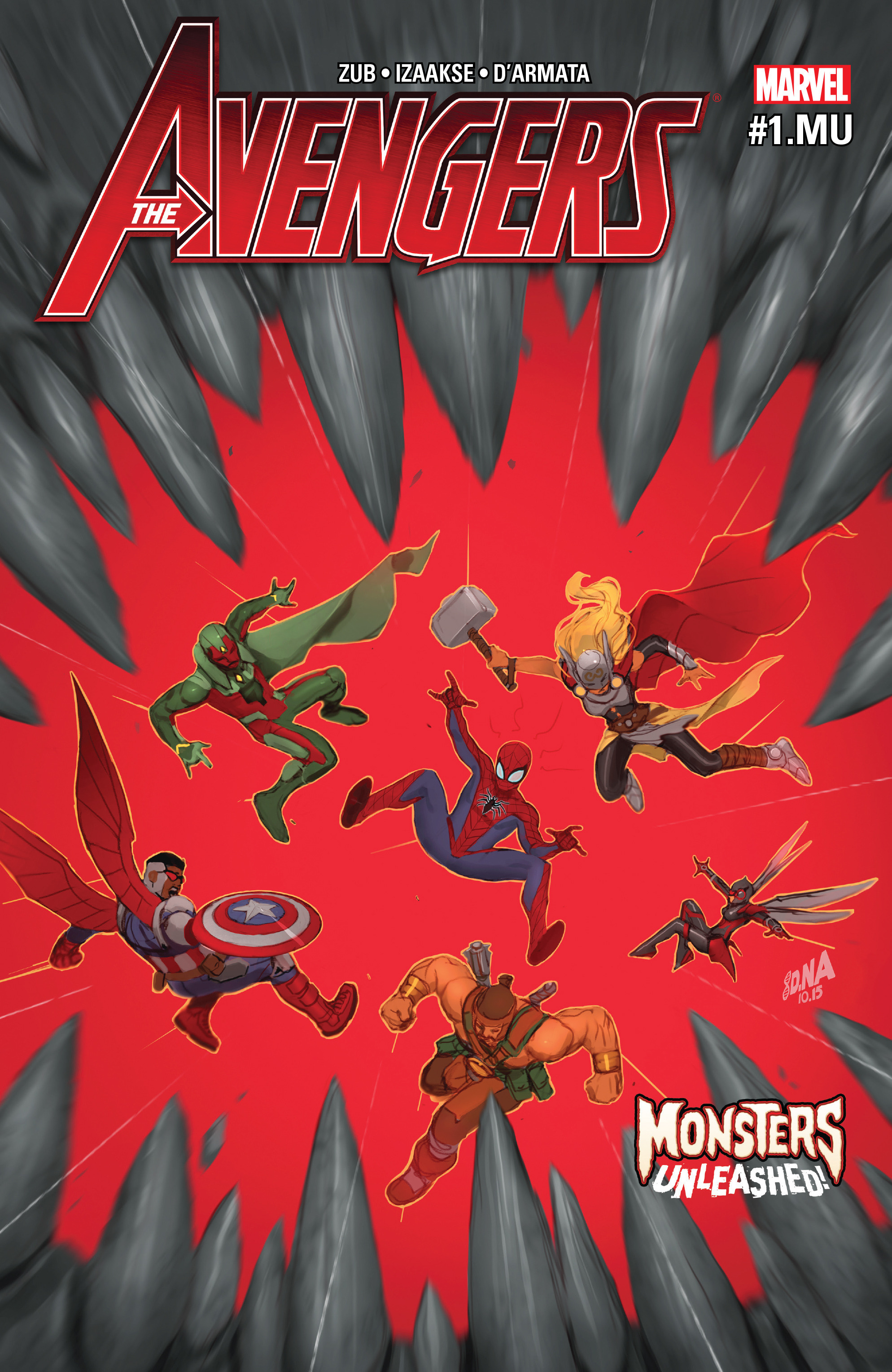 Read online Avengers (2016) comic -  Issue #1.MU - 1