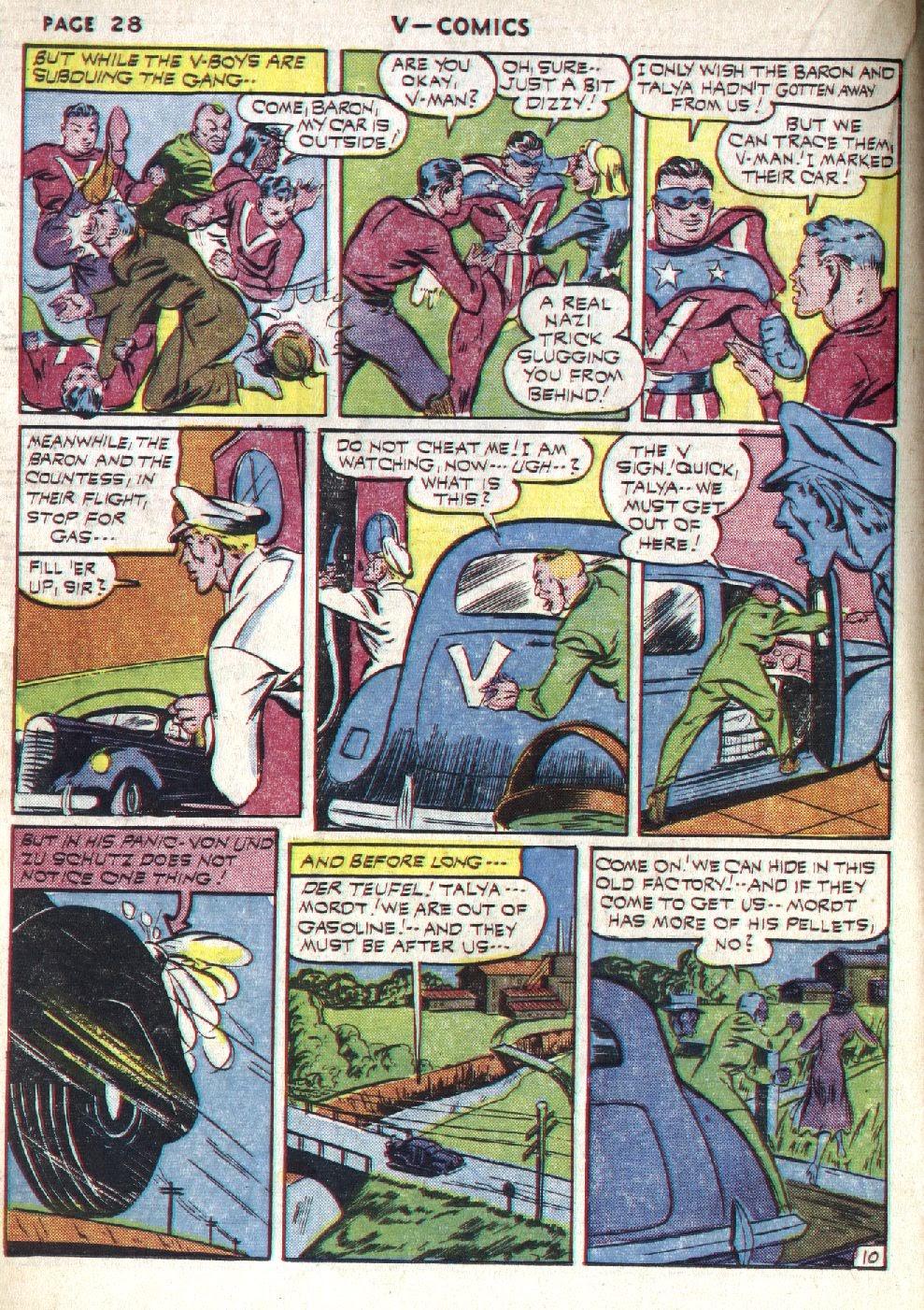 Read online V...- Comics comic -  Issue #1 - 30