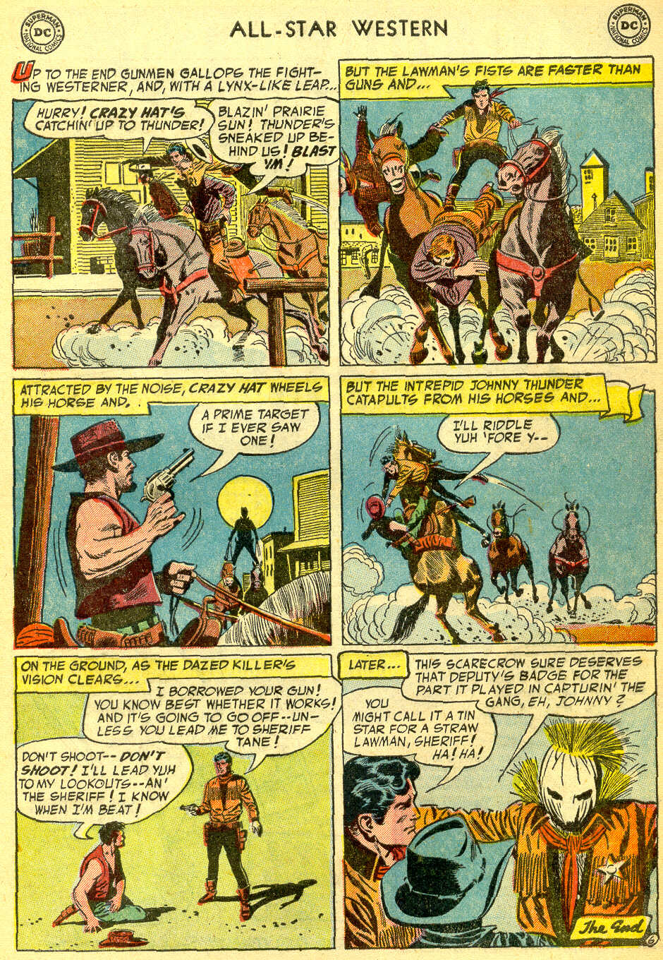 Read online All-Star Western (1951) comic -  Issue #75 - 33