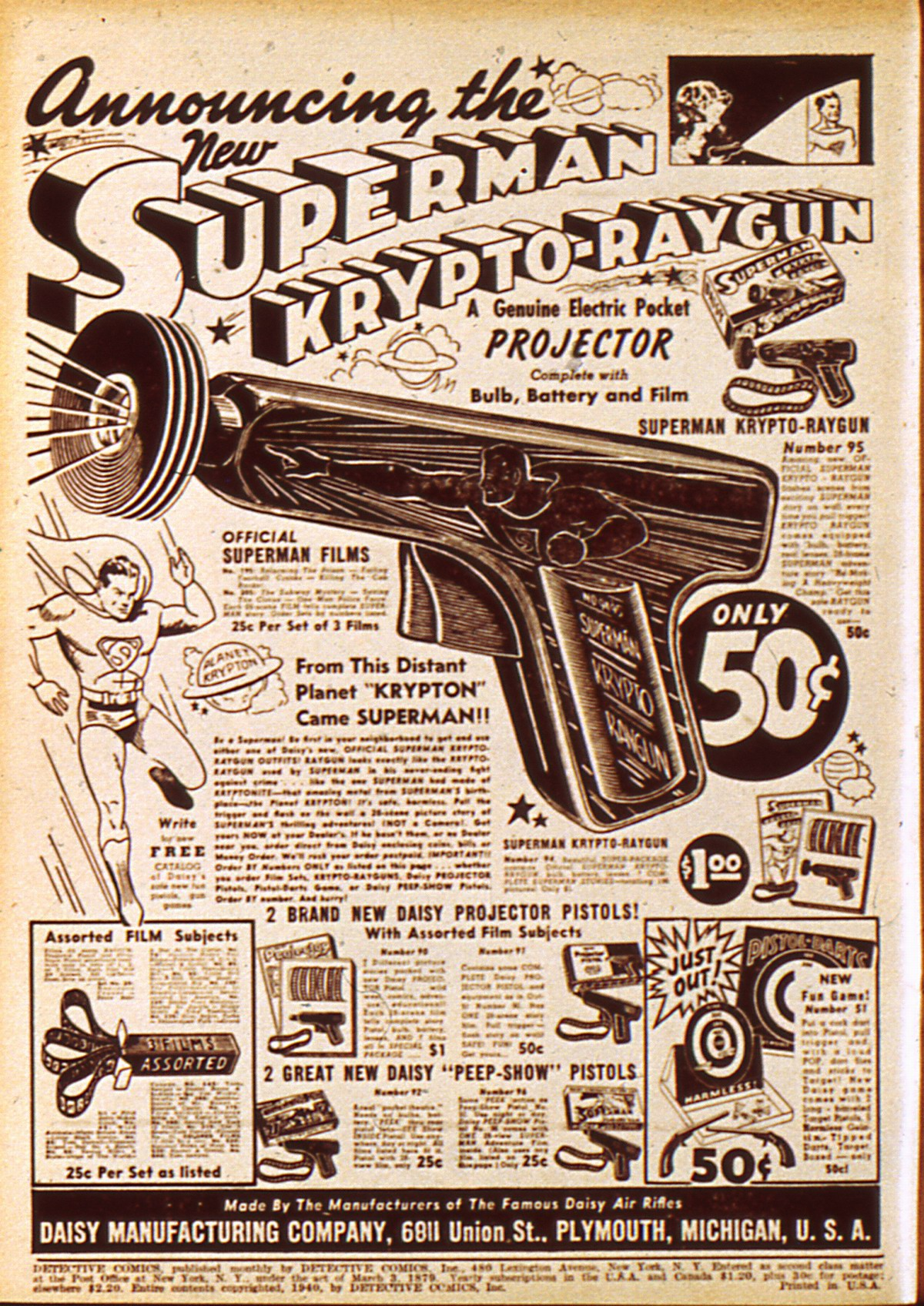 Read online Detective Comics (1937) comic -  Issue #45 - 2