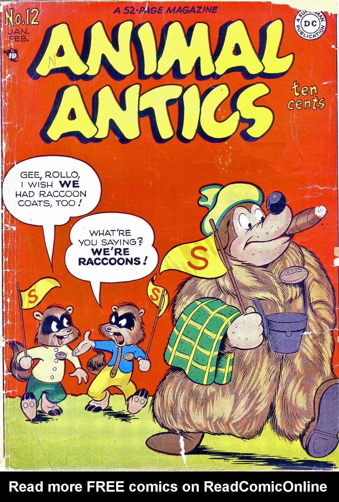 Read online Animal Antics comic -  Issue #12 - 1