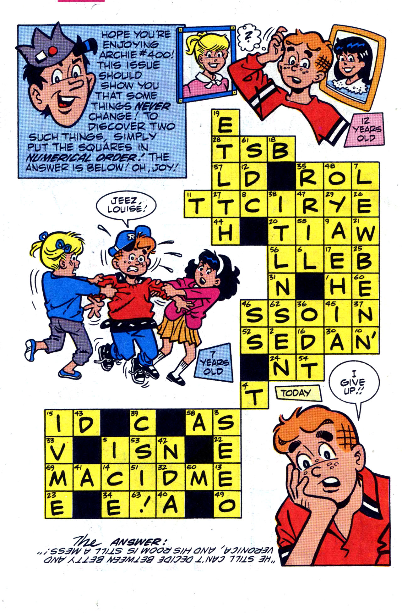Read online Archie (1960) comic -  Issue #400 - 32