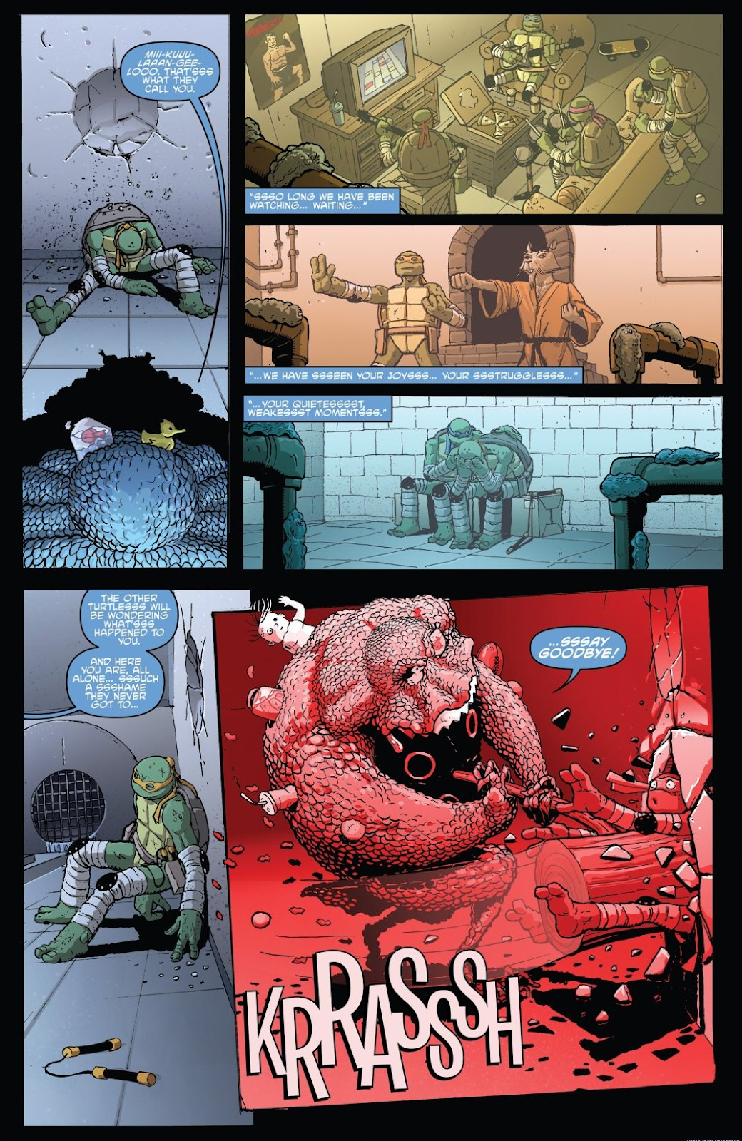 Read online Teenage Mutant Ninja Turtles: The IDW Collection comic -  Issue # TPB 8 (Part 3) - 78