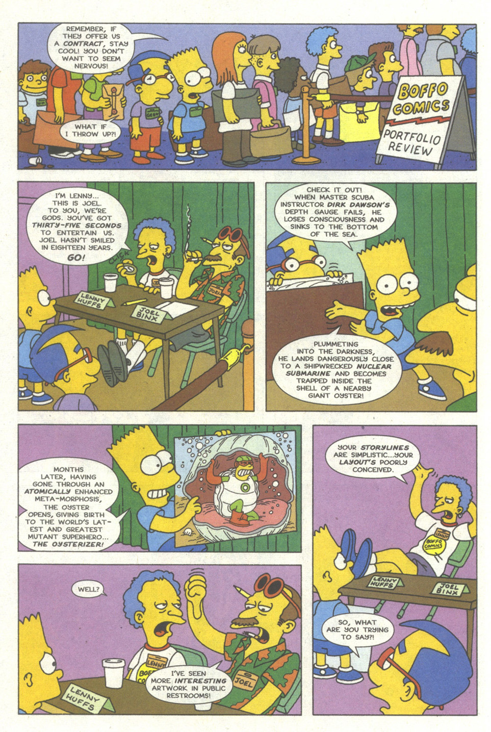 Read online Simpsons Comics comic -  Issue #13 - 11