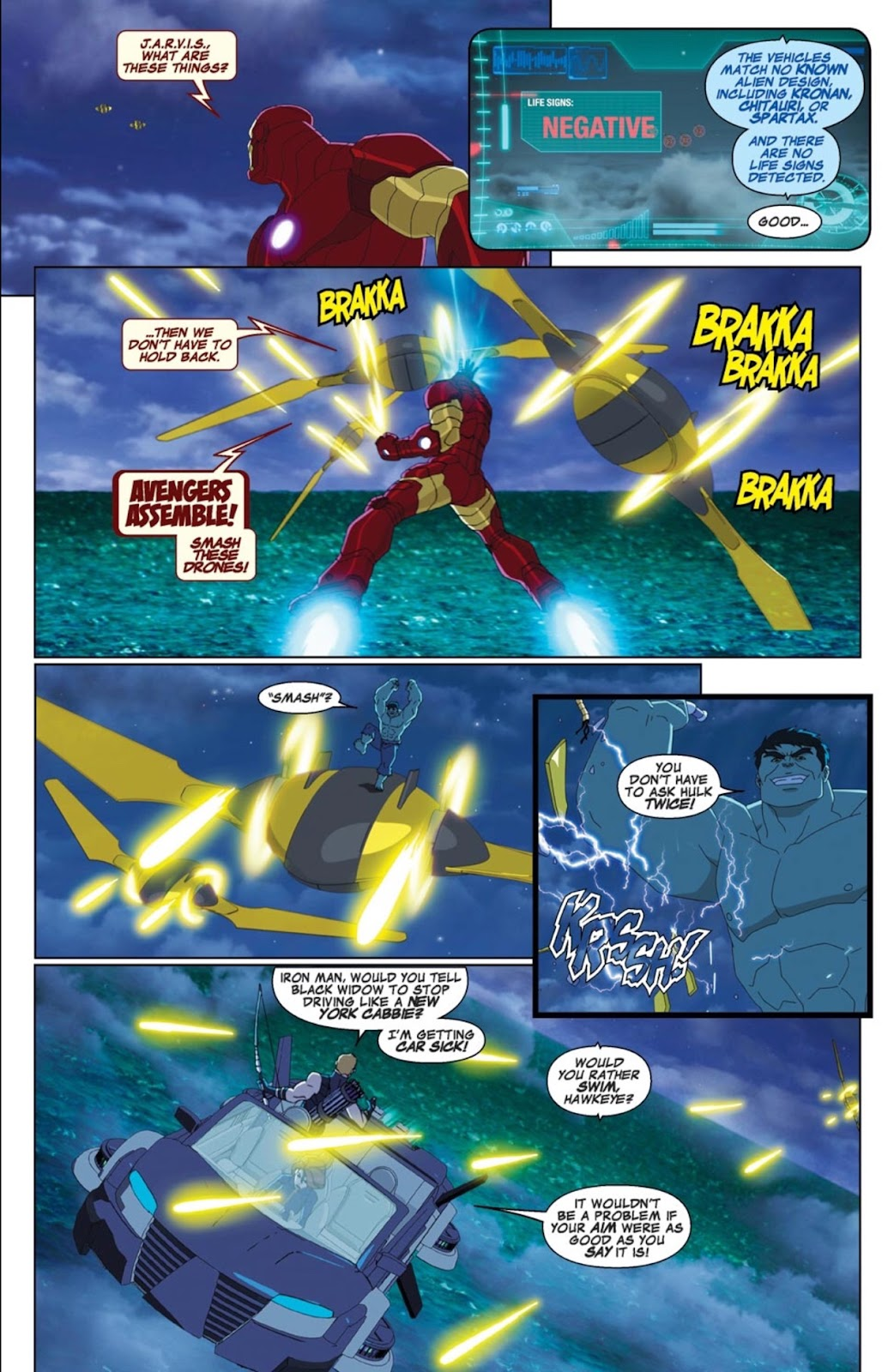 Read online Marvel Universe Avengers Assemble Season 2 comic -  Issue #1 - 2
