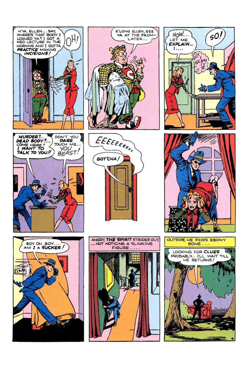 Read online Will Eisner's The Spirit Archives comic -  Issue # TPB 1 (Part 2) - 87