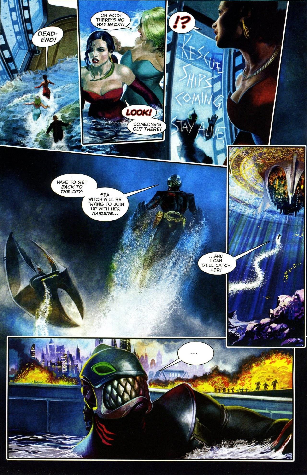 Read online Shark-Man comic -  Issue #3 - 6