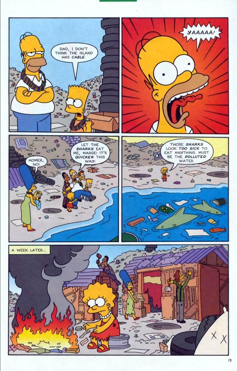 Read online Simpsons Comics comic -  Issue #72 - 14
