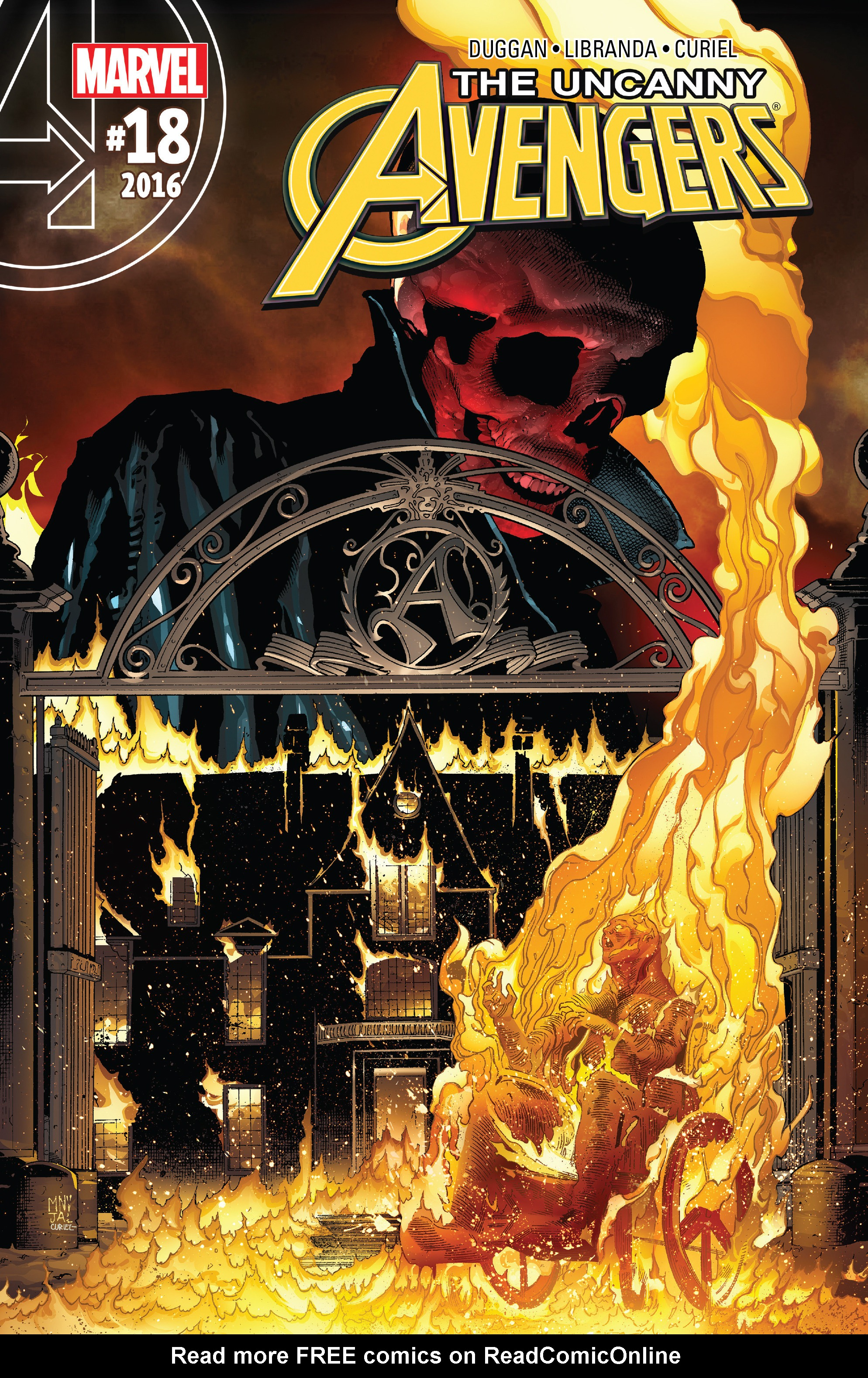 Read online Uncanny Avengers [II] comic -  Issue #18 - 1