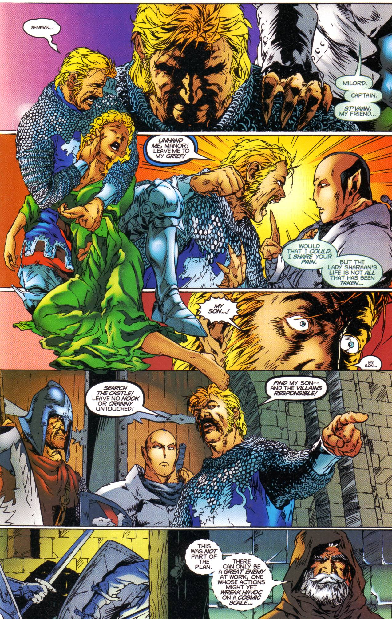 Read online Avataars: Covenant of the Shield comic -  Issue #1 - 17