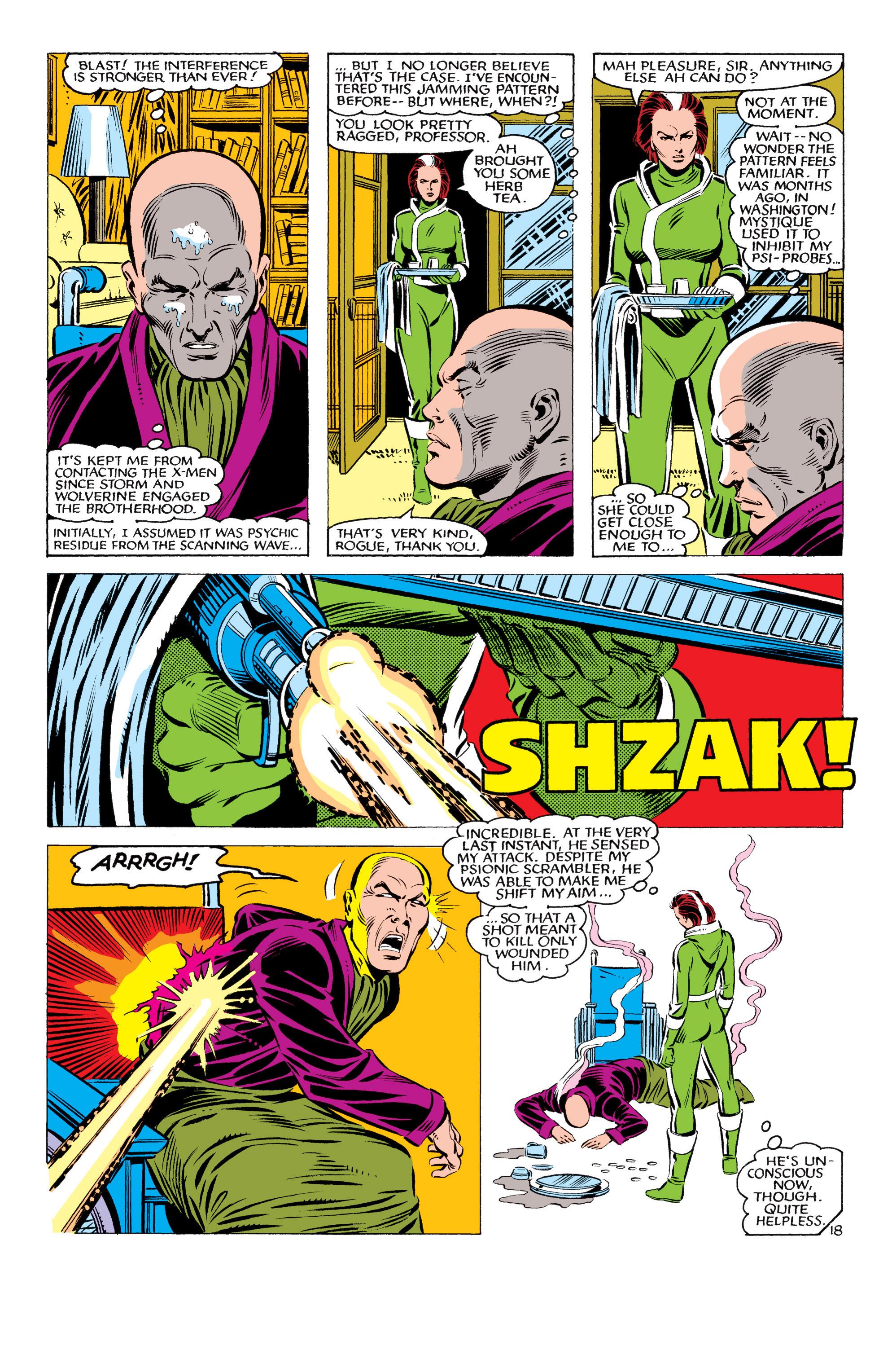 Read online Uncanny X-Men (1963) comic -  Issue #178 - 19