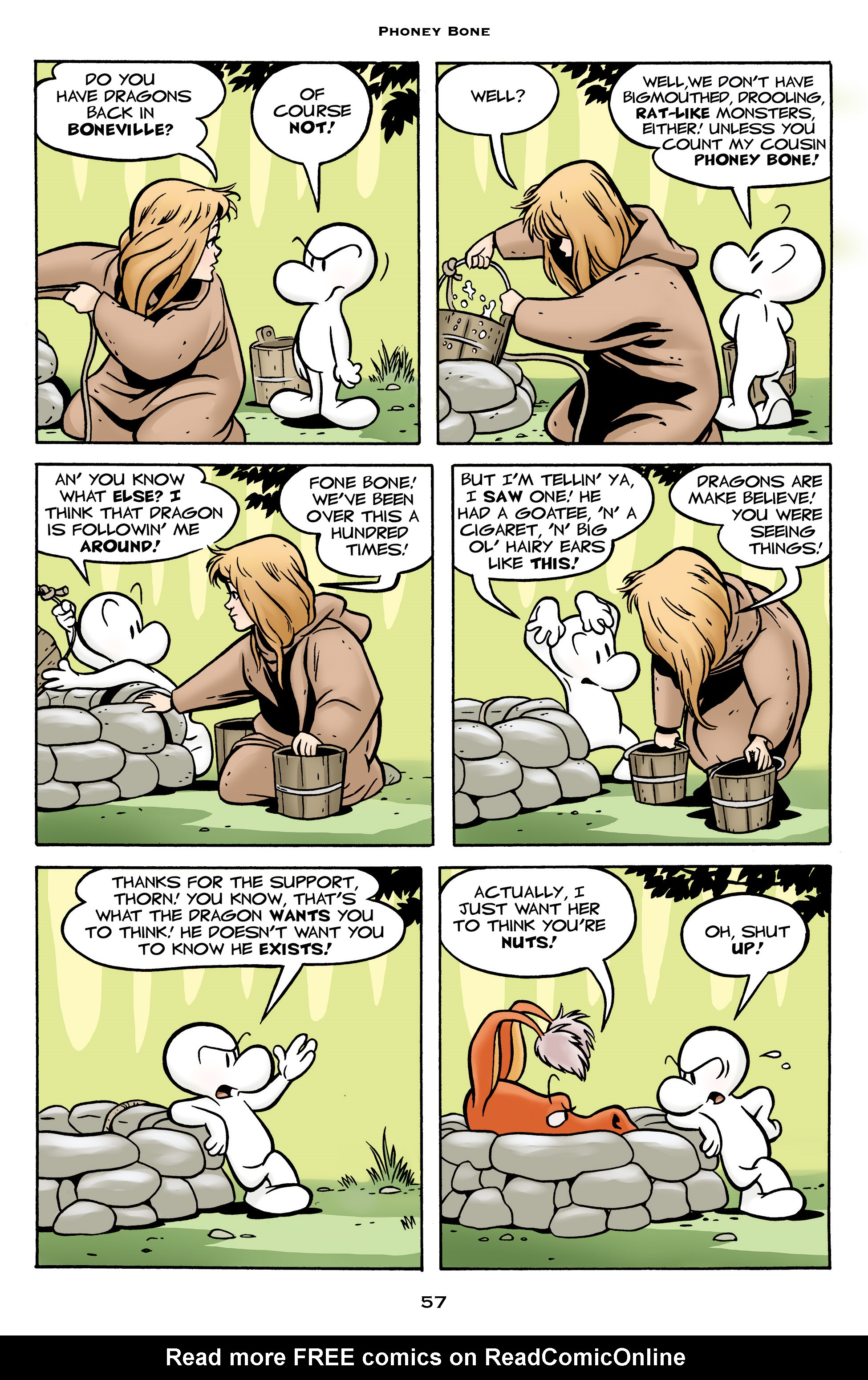 Read online Bone: Out From Boneville comic -  Issue # TPB - 57
