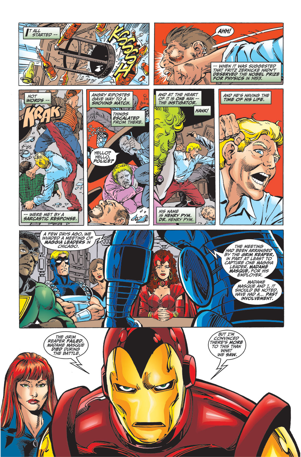 Read online Avengers (1998) comic -  Issue #32 - 8
