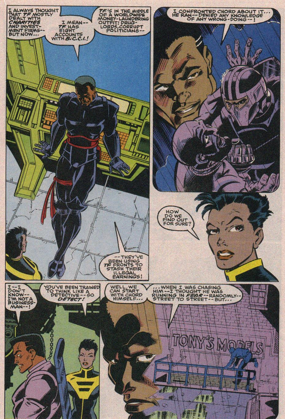 The New Warriors Issue #18 #22 - English 12