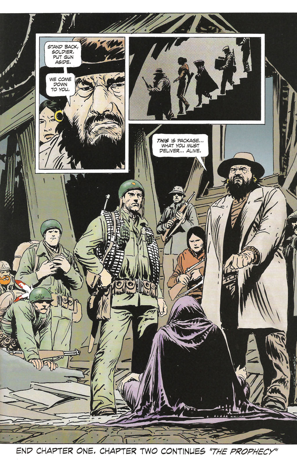 Read online Sgt. Rock: The Prophecy comic -  Issue #1 - 25
