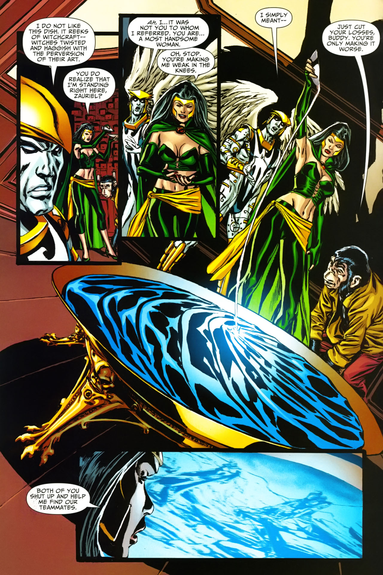 Read online Shadowpact comic -  Issue #19 - 3