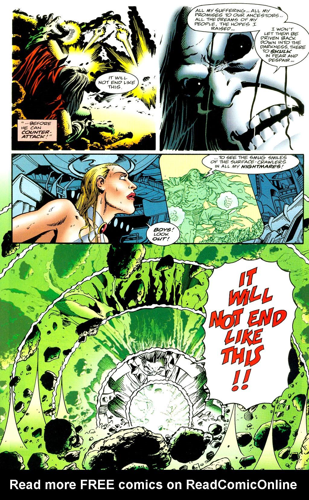 Read online UltraForce (1994) comic -  Issue #6 - 11