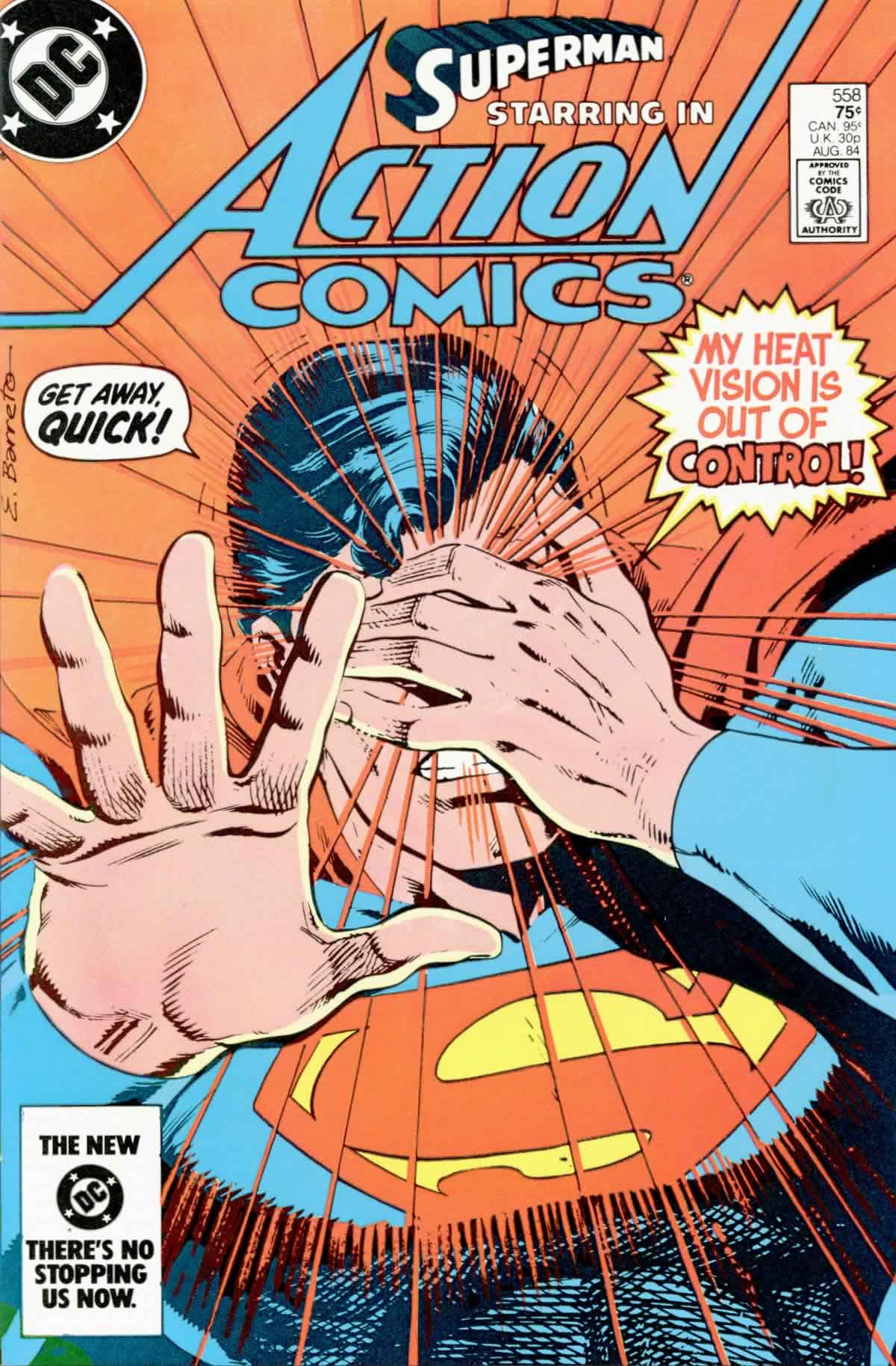 Read online Action Comics (1938) comic -  Issue #558 - 1