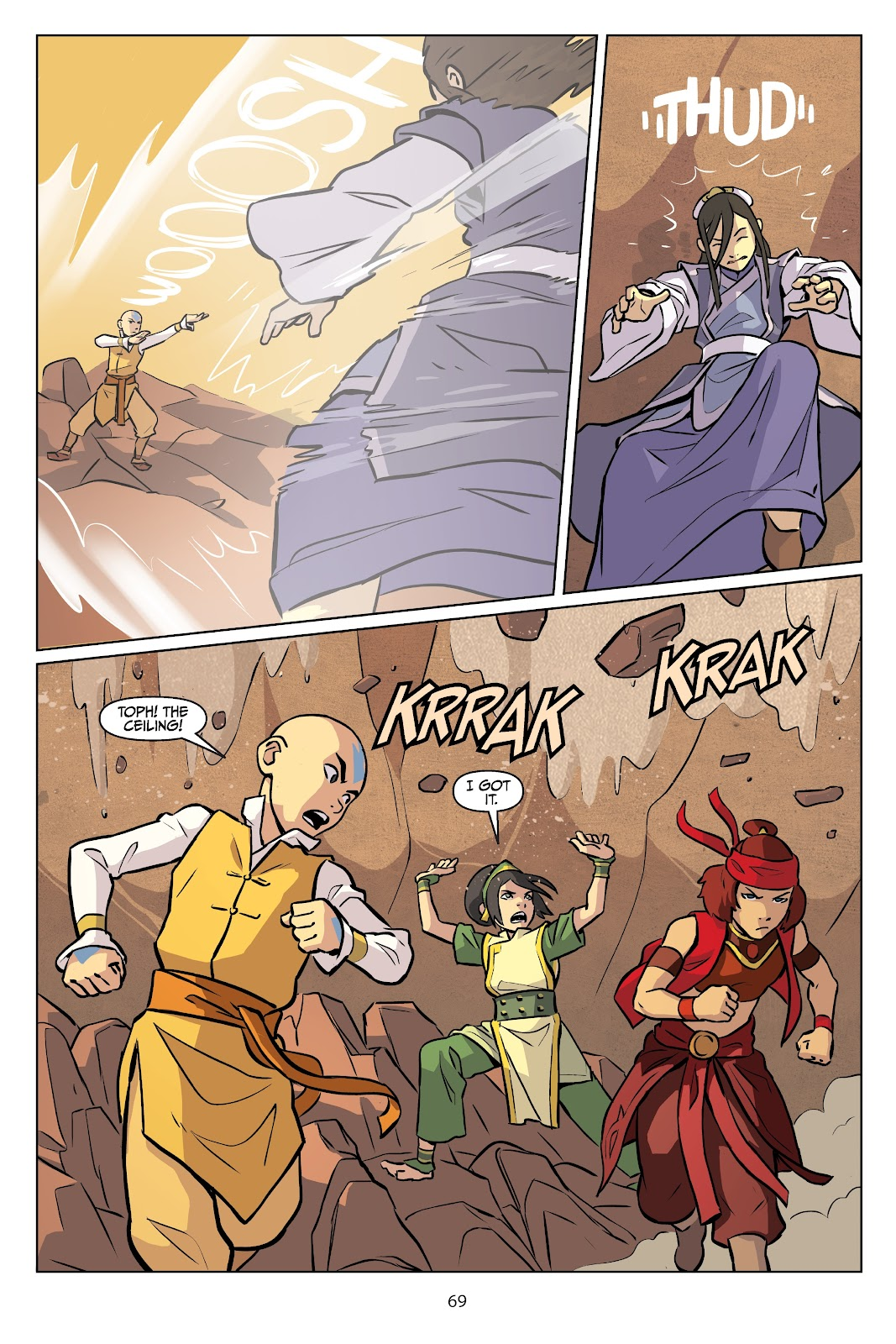 Read online Nickelodeon Avatar: The Last Airbender - Imbalance comic -  Issue # TPB 2 - 70