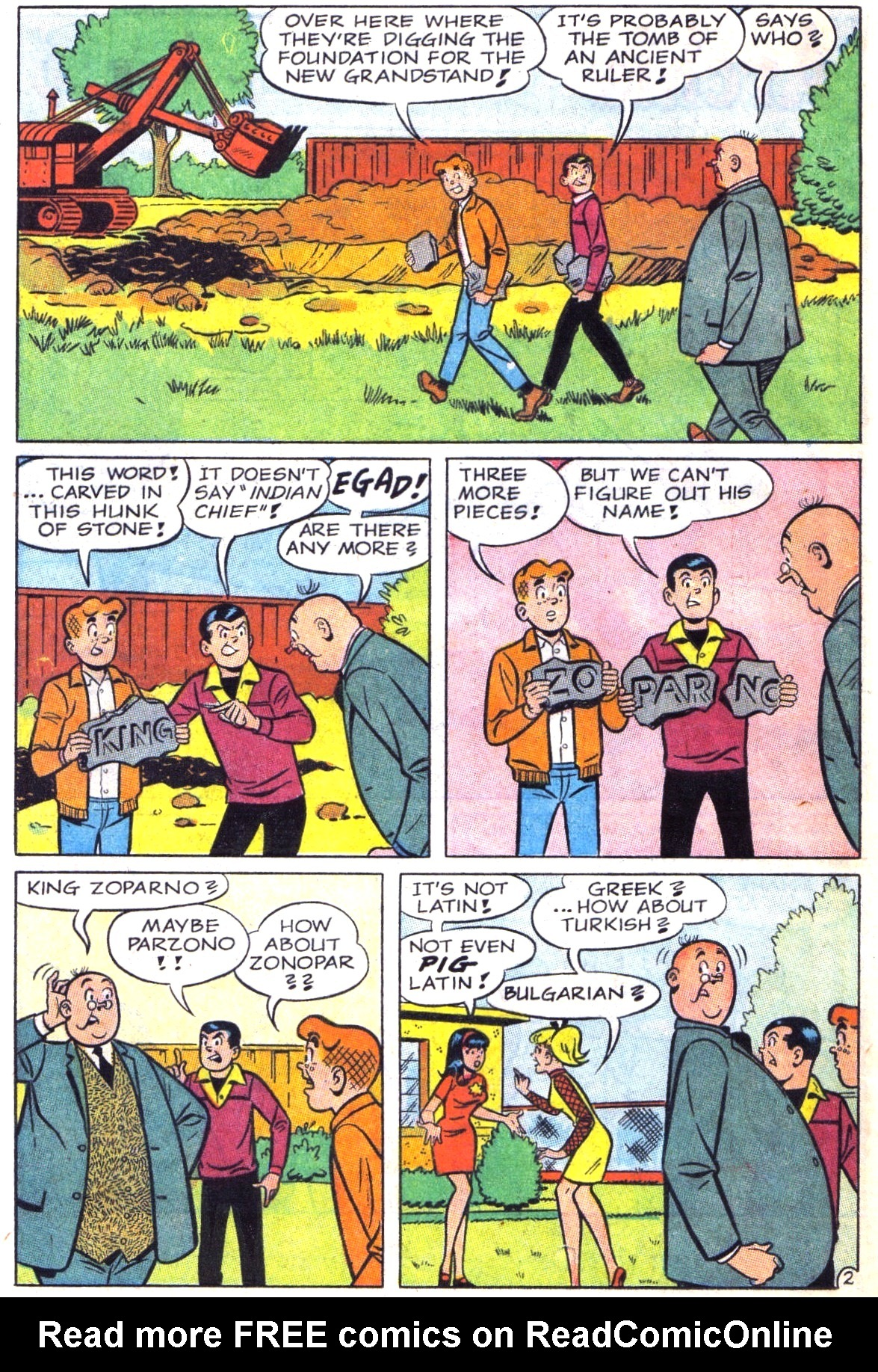Read online Archie (1960) comic -  Issue #181 - 14