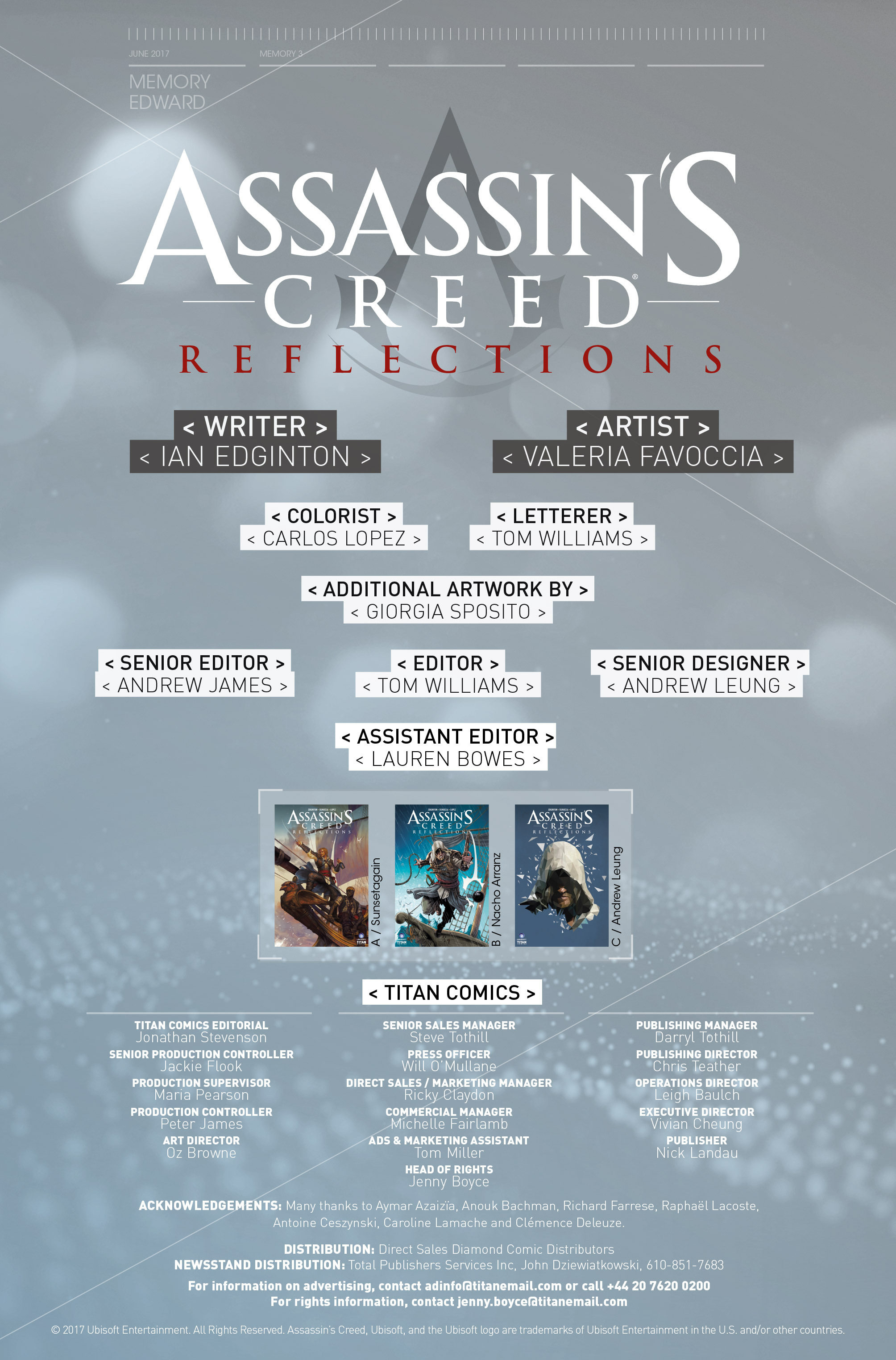 Read online Assassin's Creed: Reflections comic -  Issue #3 - 26