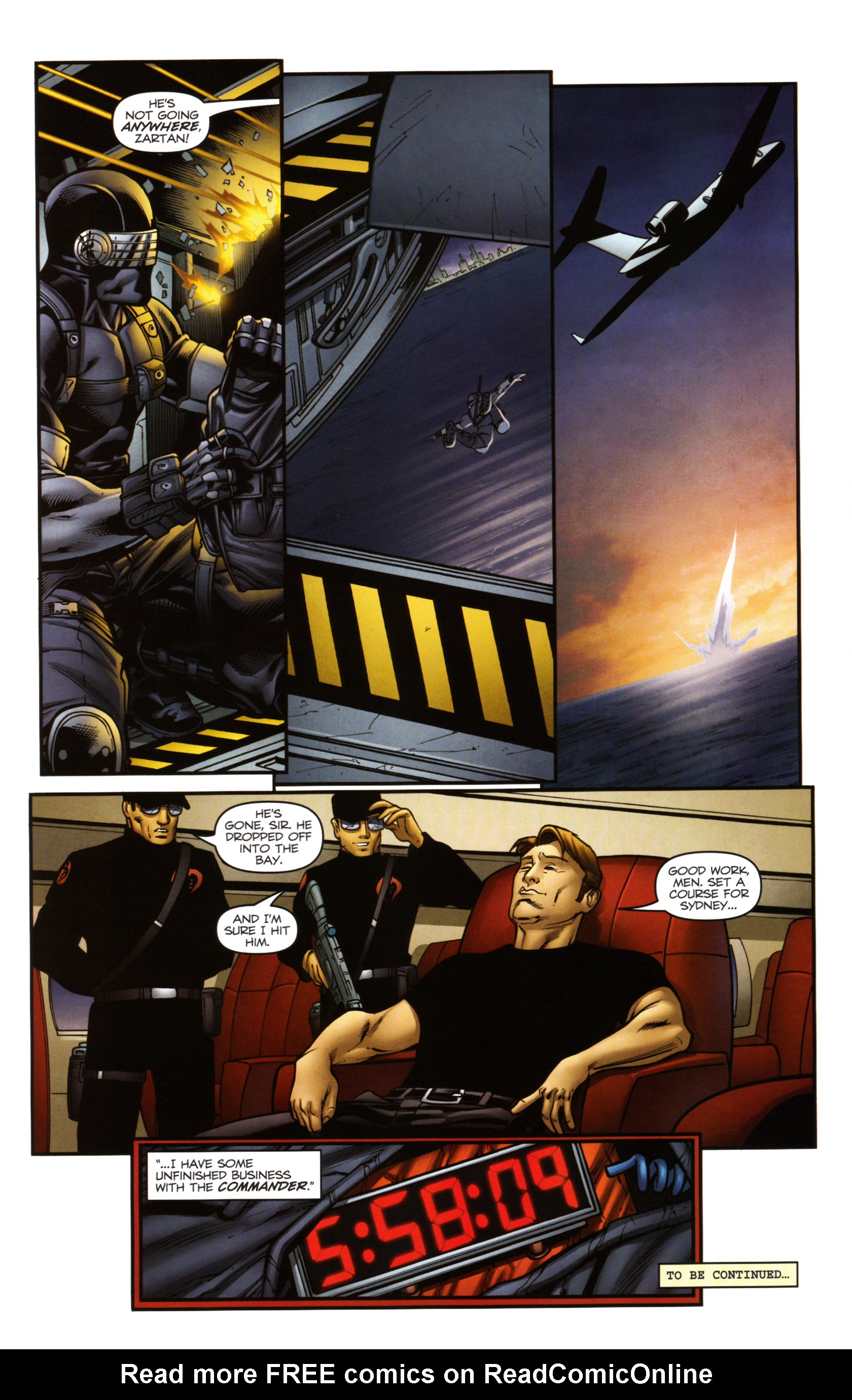 Read online Snake Eyes and Storm Shadow comic -  Issue #14 - 25