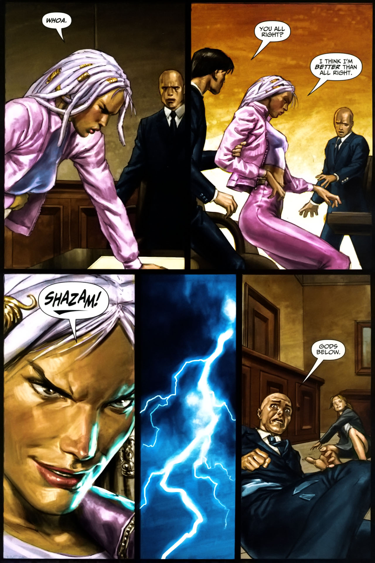 Read online Trials of Shazam comic -  Issue #9 - 21