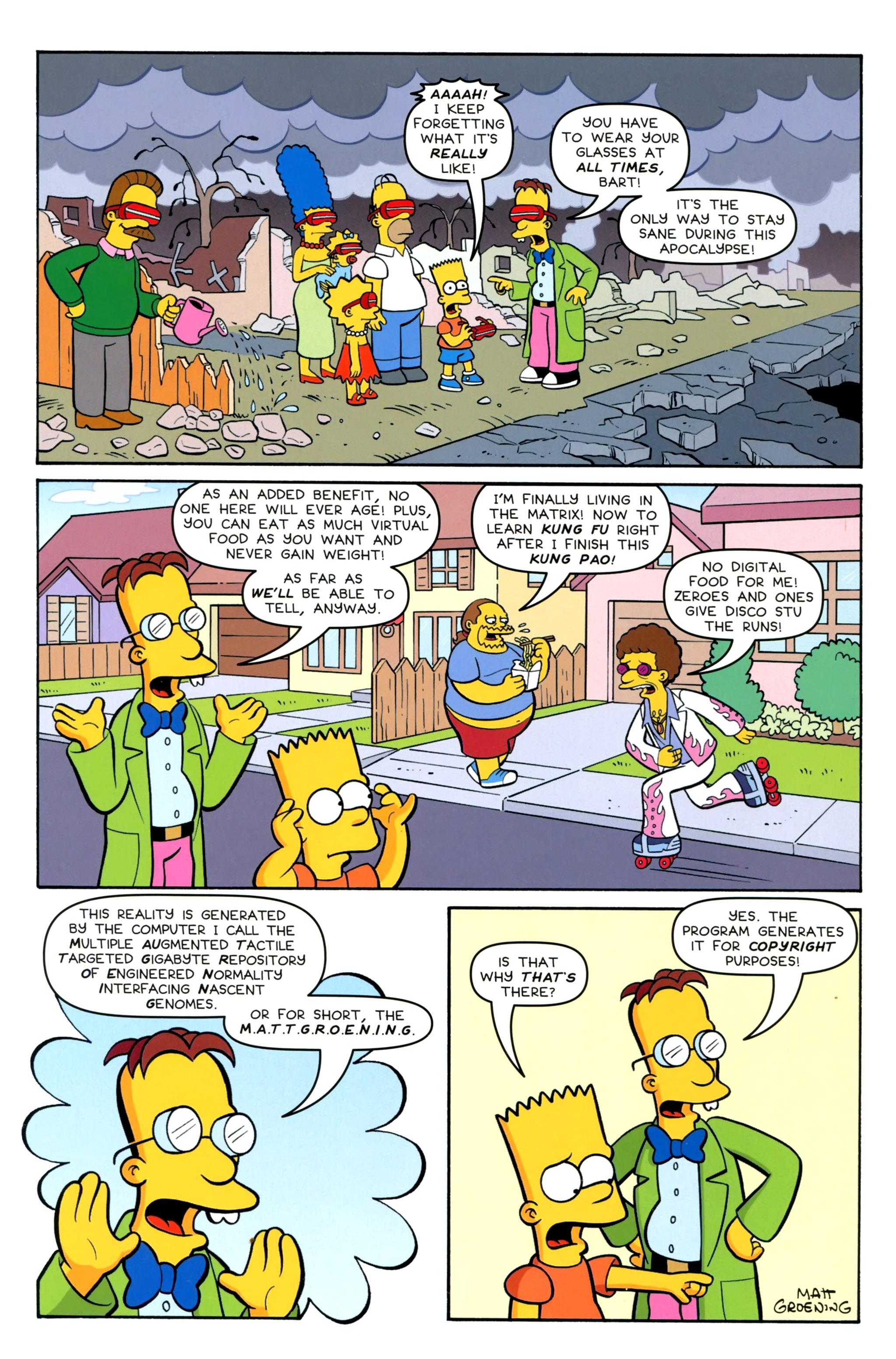 Read online Simpsons Comics Presents Bart Simpson comic -  Issue #100 - 42