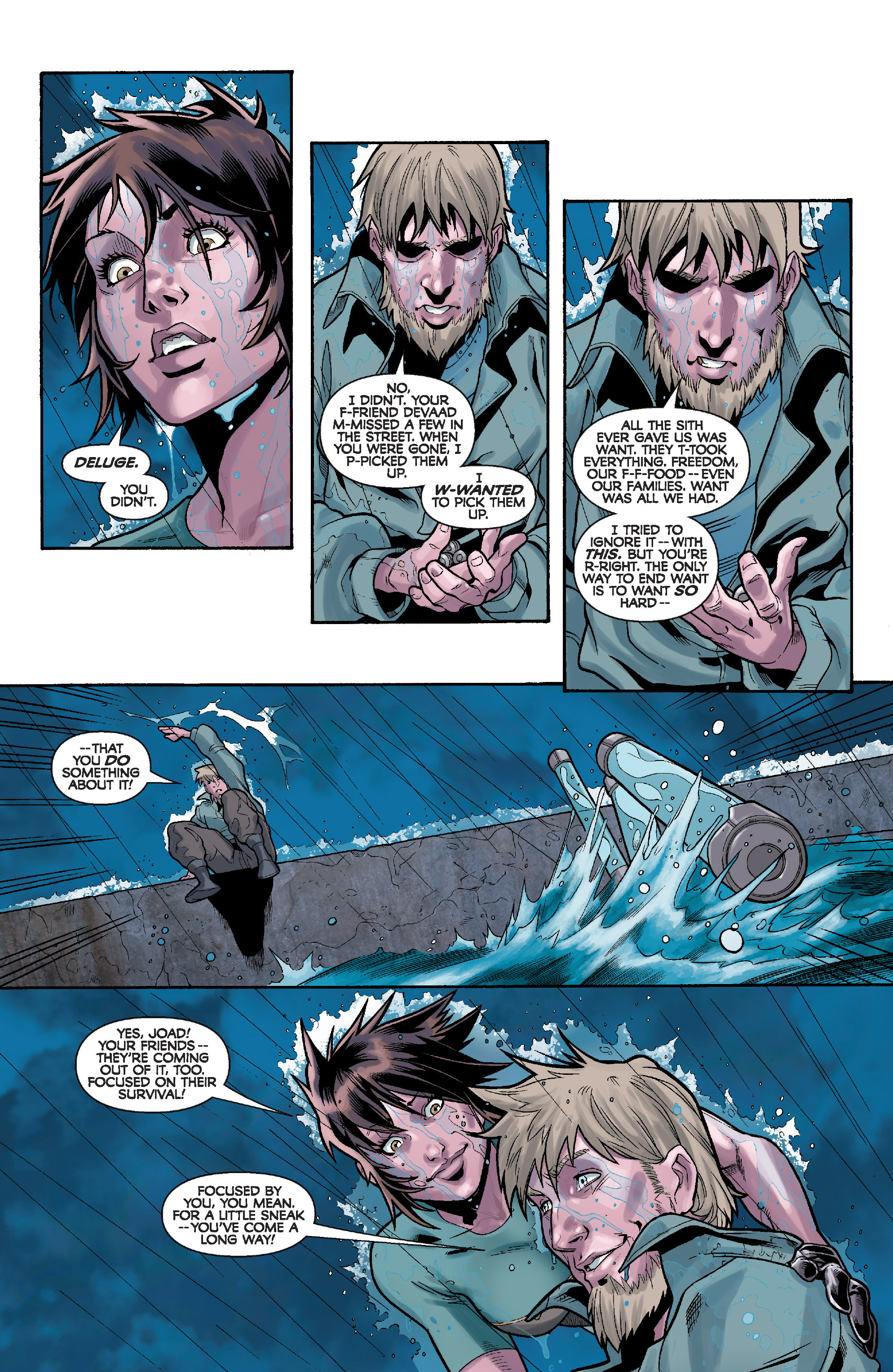 Read online Star Wars: Knight Errant - Deluge comic -  Issue #4 - 8